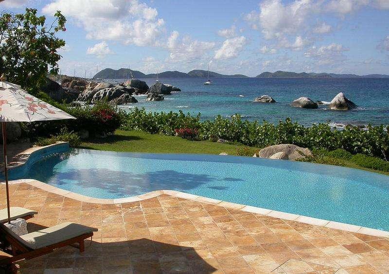 Luxury villa rentals caribbean - British virgin islands - Virgin gorda - Little trunk bay - Villa Sol y Sombra - Image 1/14