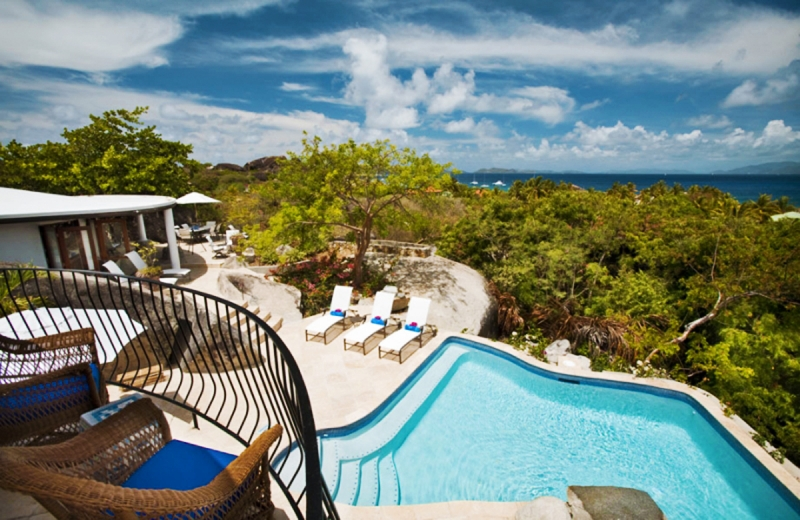 Luxury villa rentals caribbean - British virgin islands - Virgin gorda - Little trunk bay - Villa On the Rocks - Image 1/15