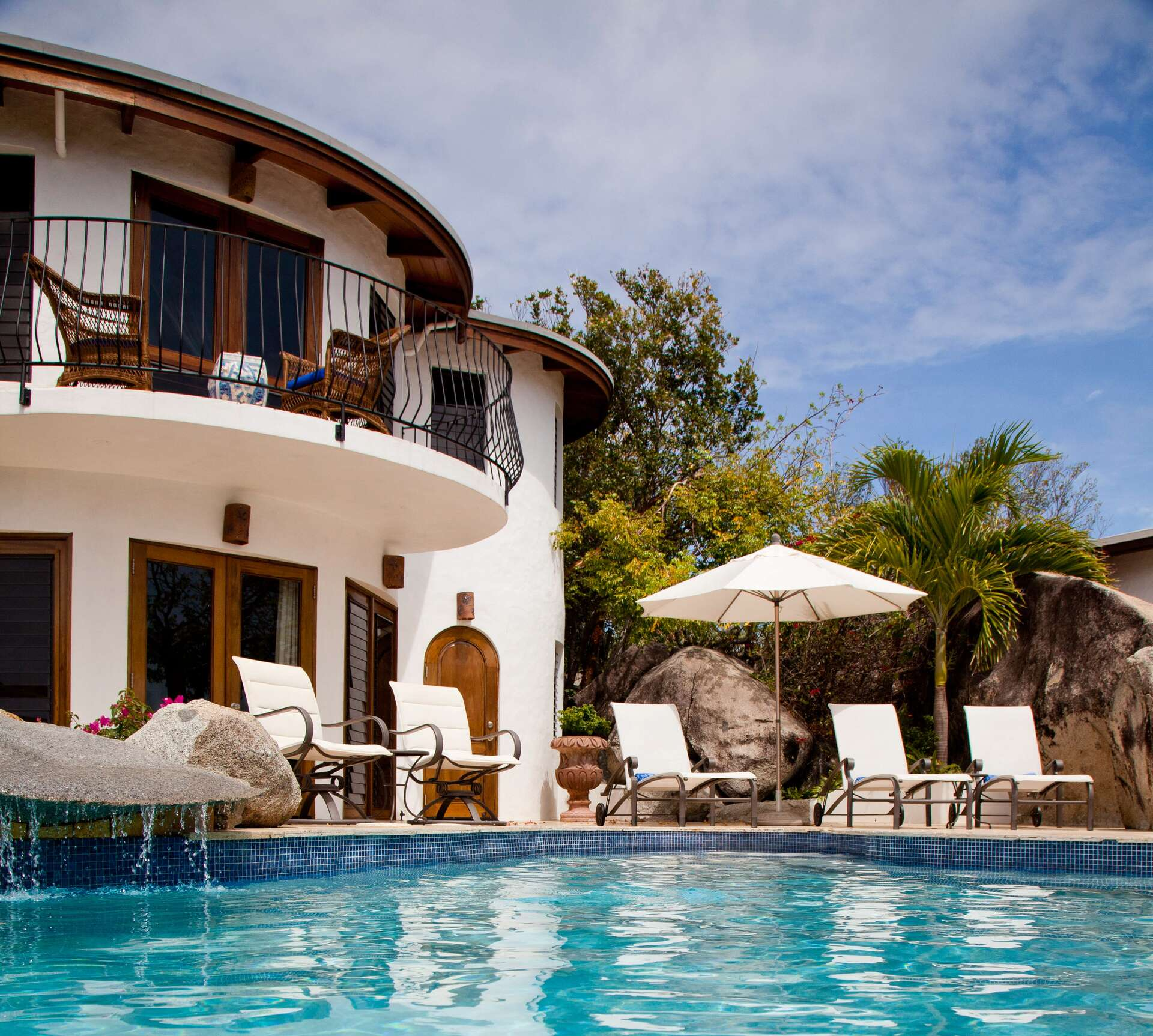 Luxury villa rentals caribbean - British virgin islands - Virgin gorda - Little trunk bay - On the Rocks Villa - Image 1/16