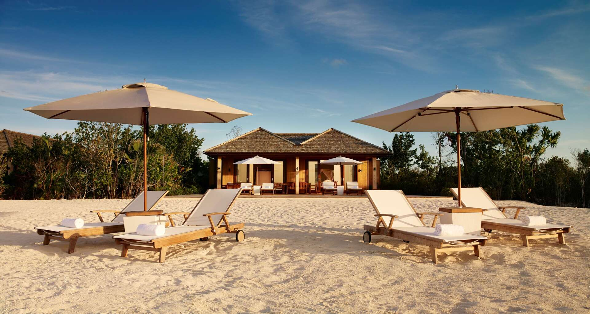 Luxury villa rentals caribbean - Turks and caicos - Parrot cay - Como parrot cay - Beach House 2 BDM - Image 1/11