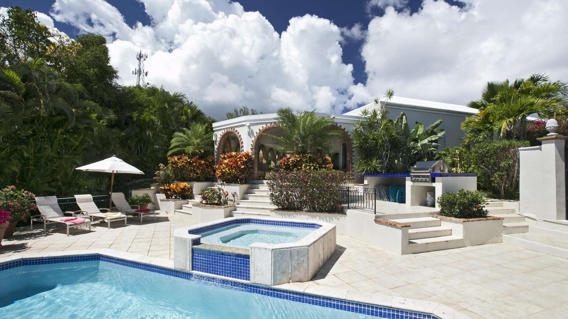 Luxury villa rentals caribbean - Usvi - St thomas - Northside - Villa Gardenia - Image 1/15