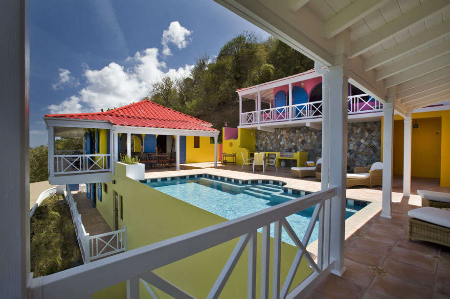 Luxury villa rentals caribbean - British virgin islands - Tortola - Belmont  - Sunny Side Up - Image 1/9