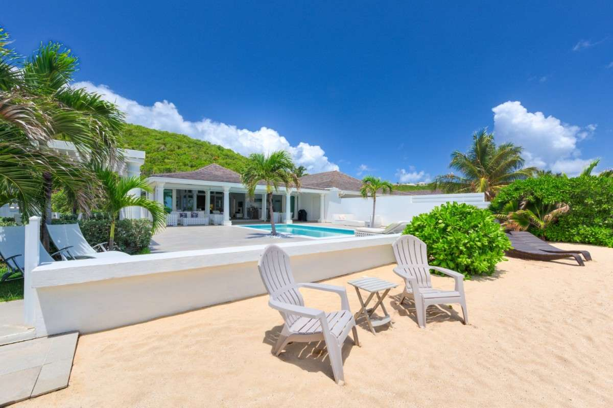 Luxury villa rentals caribbean - St martin - Saint martin french - Terres basses baie rouge - La Perla Bianca - Image 1/12
