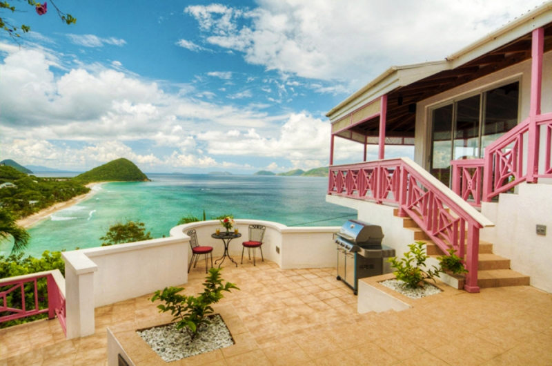 Luxury villa rentals caribbean - British virgin islands - Tortola - Lo ngbay - Sunset House - Image 1/15