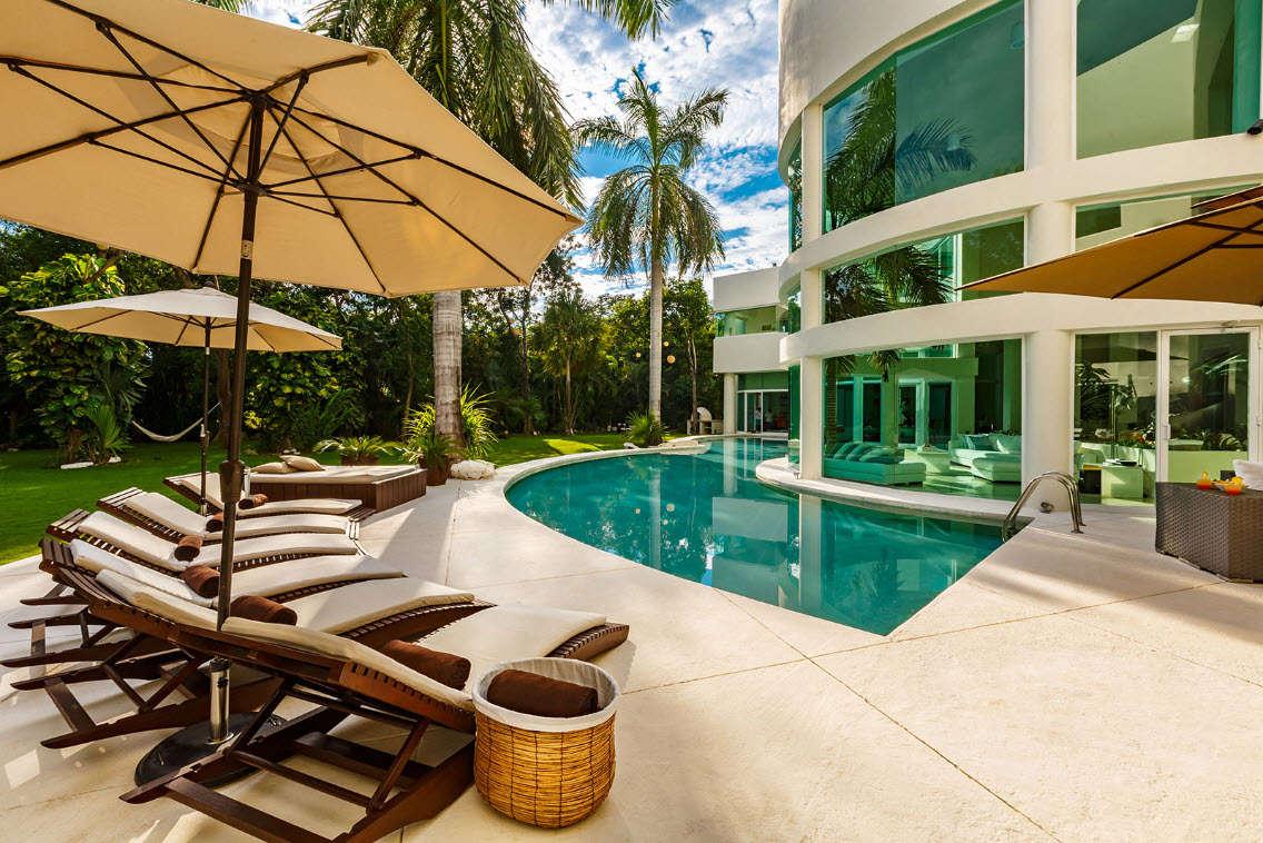 Luxury vacation rentals mexico - Riviera maya - Playa del carmen - Villa Aqua - Image 1/21