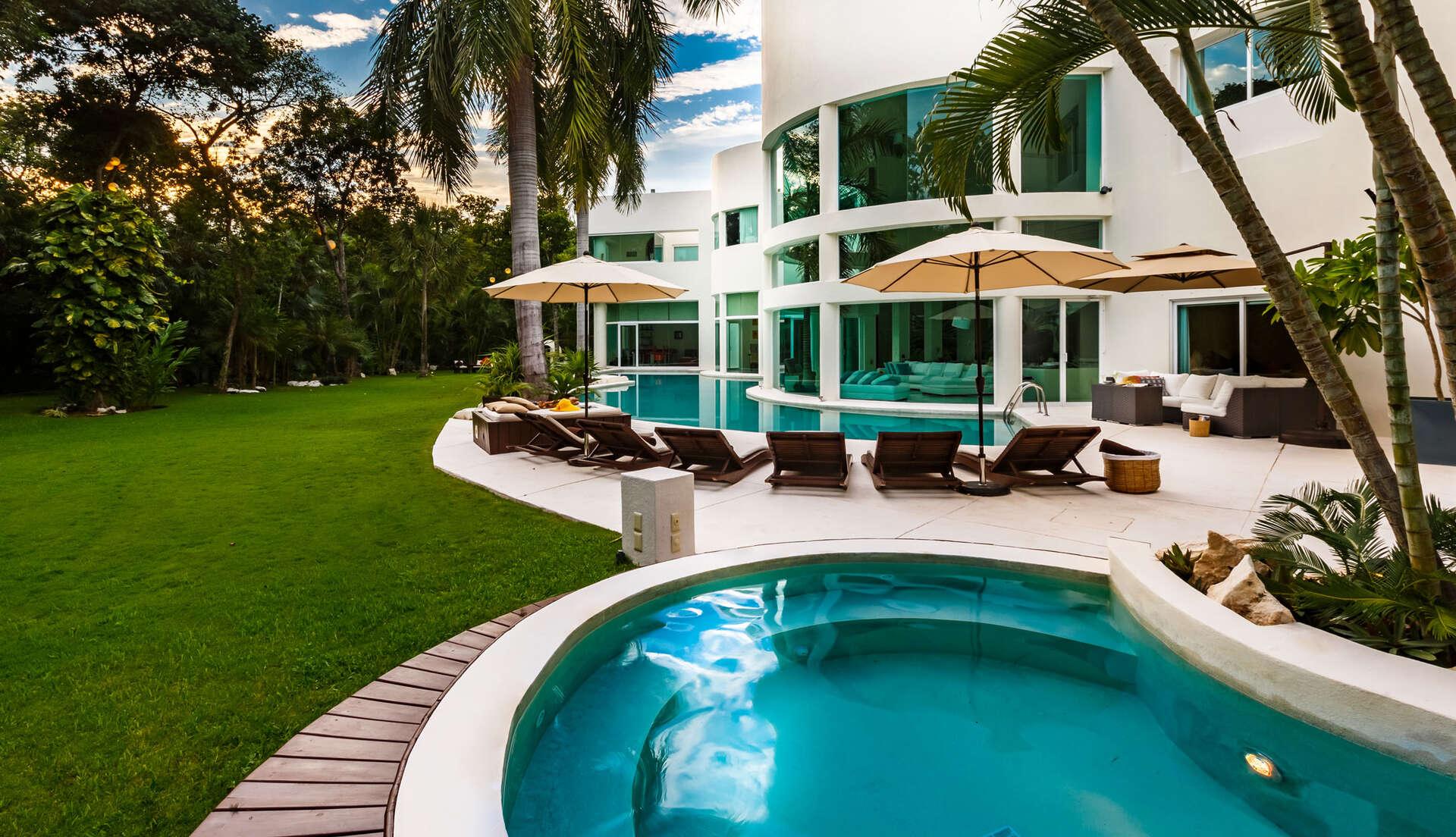 Luxury vacation rentals mexico - Riviera maya - Playa del carmen - No location 4 - Villa Aqua - Image 1/21