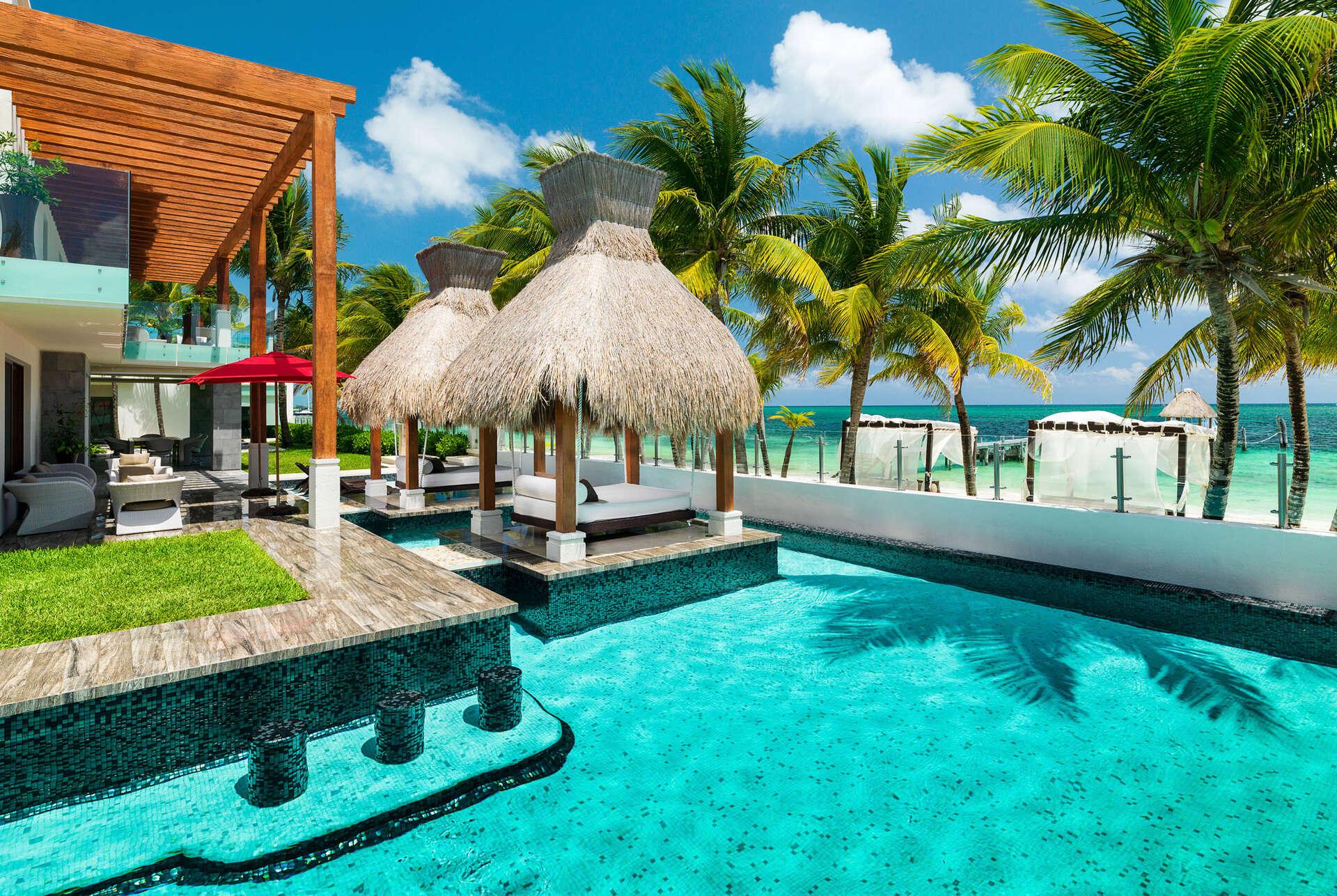 Luxury vacation rentals mexico - Riviera maya - Puerto morelos - No location 4 - Azul Esmeralda - Image 1/15