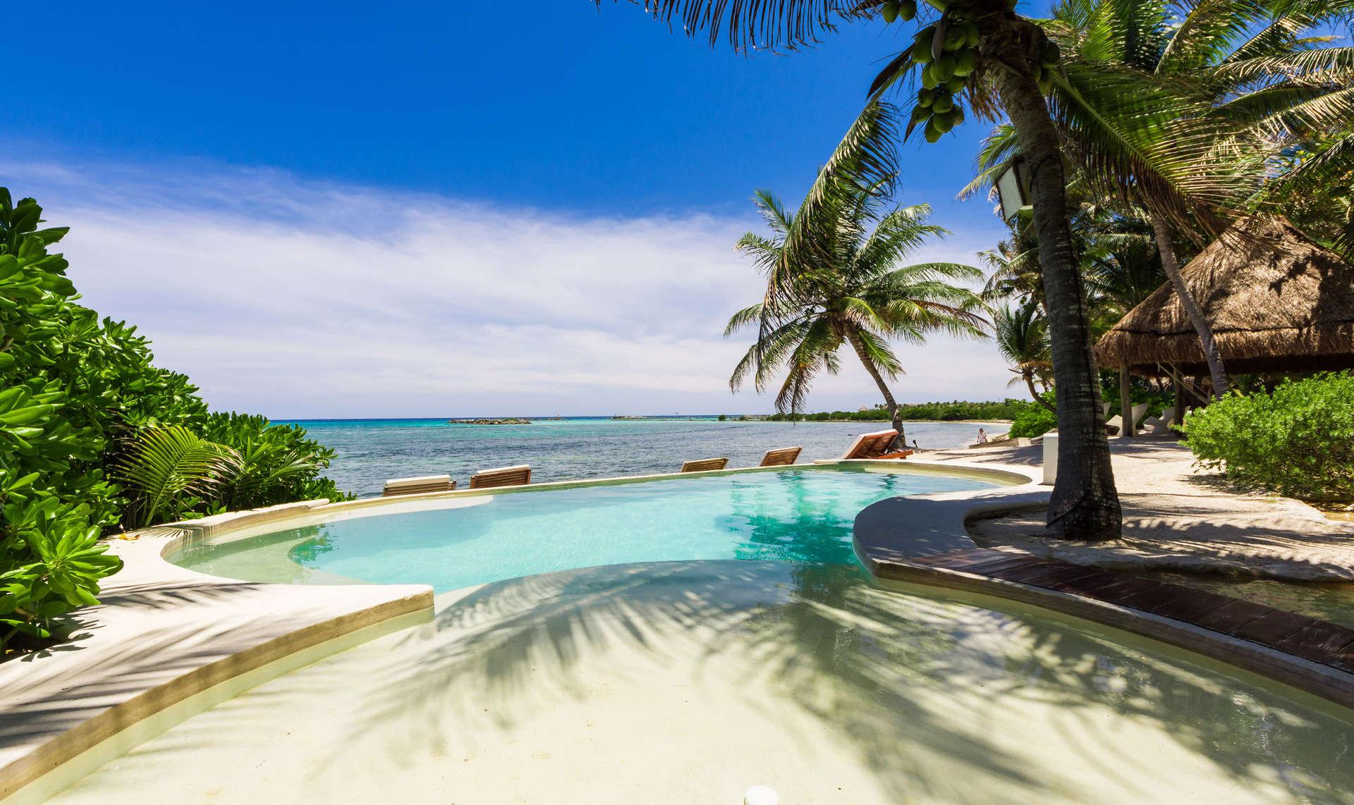 Luxury vacation rentals mexico - Riviera maya - Puerto aventuras - Casa del Agua - Image 1/18