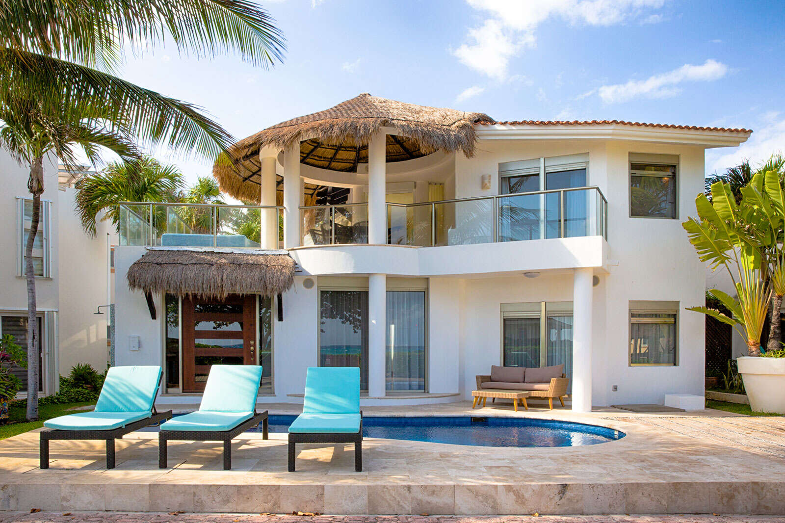 Luxury vacation rentals mexico - Riviera maya - Playa del carmen - No location 4 - Villa Turquesa - Image 1/25