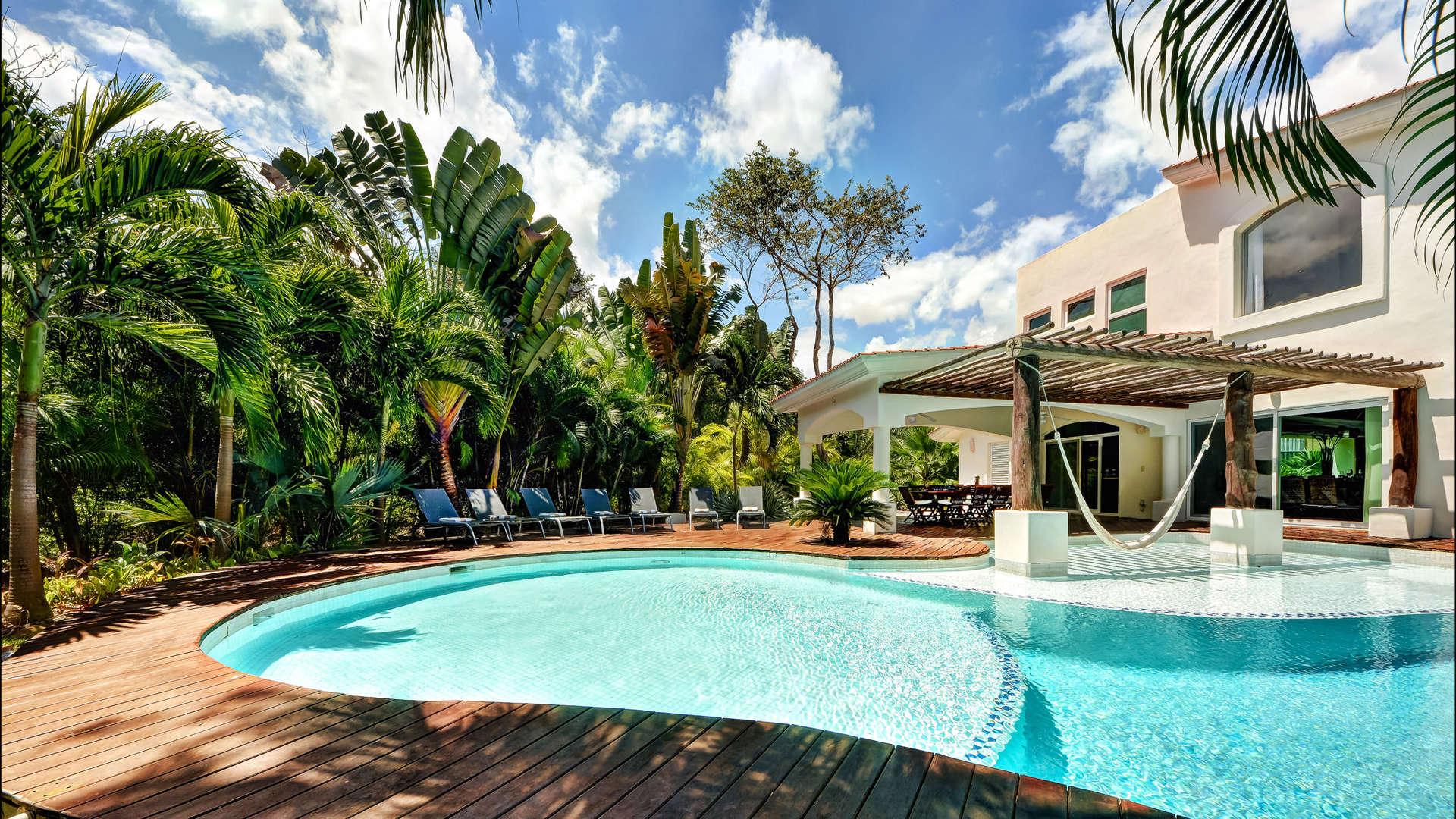 Luxury vacation rentals mexico - Riviera maya - Playa car - No location 4 - Villa Saasil - Image 1/27