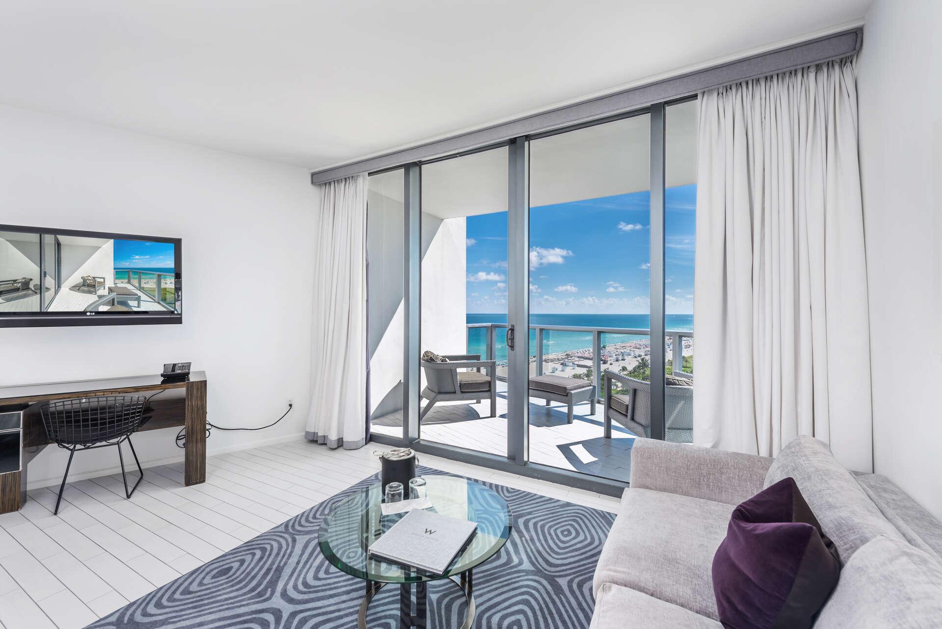 Luxury vacation rentals usa - Florida - Miami beach - W hotel south beach - #1226 | Studio Suite - Image 1/12