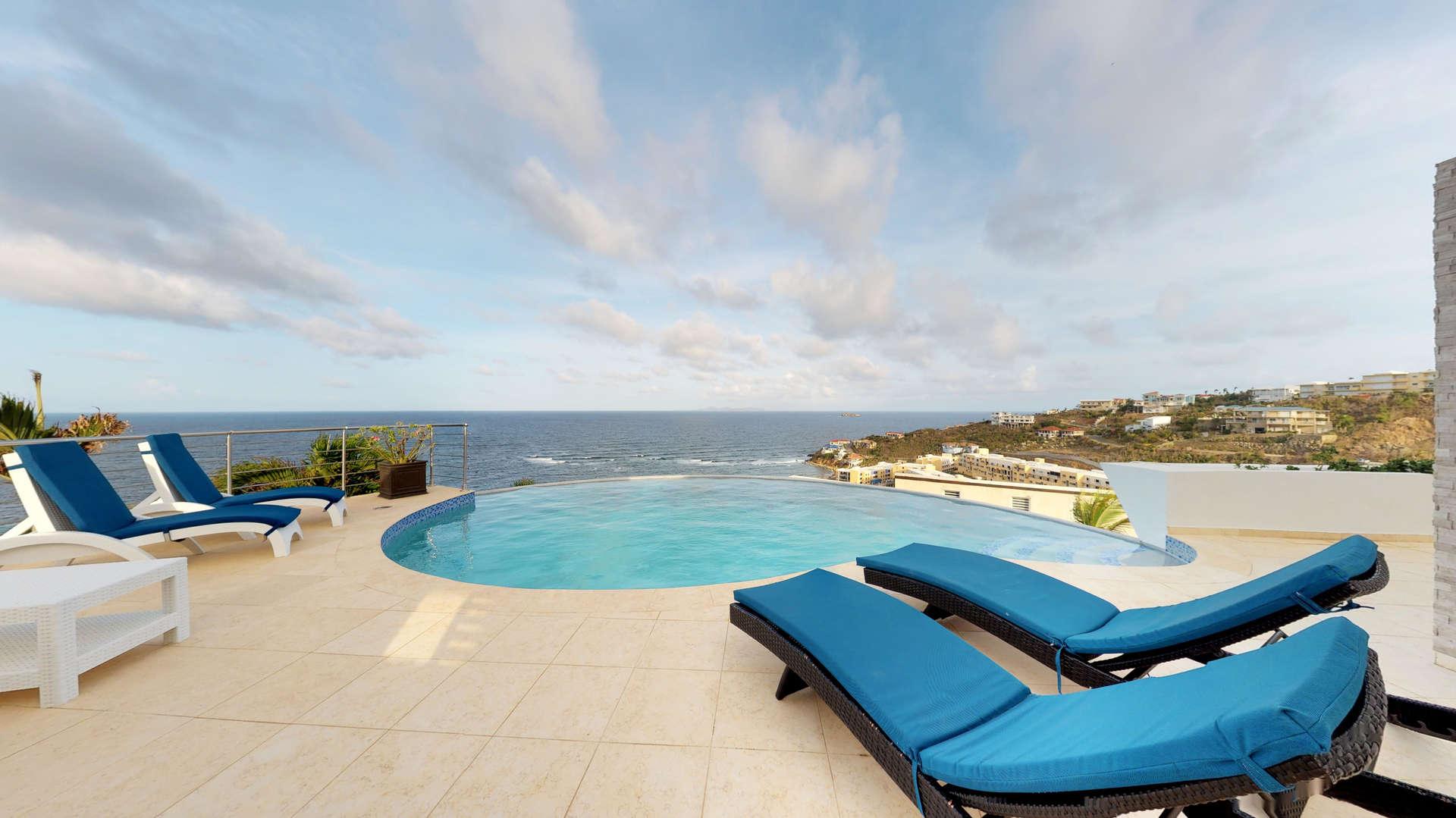 Luxury villa rentals caribbean - St martin - Sint maarten - Oyster pond - Summerwinds - Image 1/22