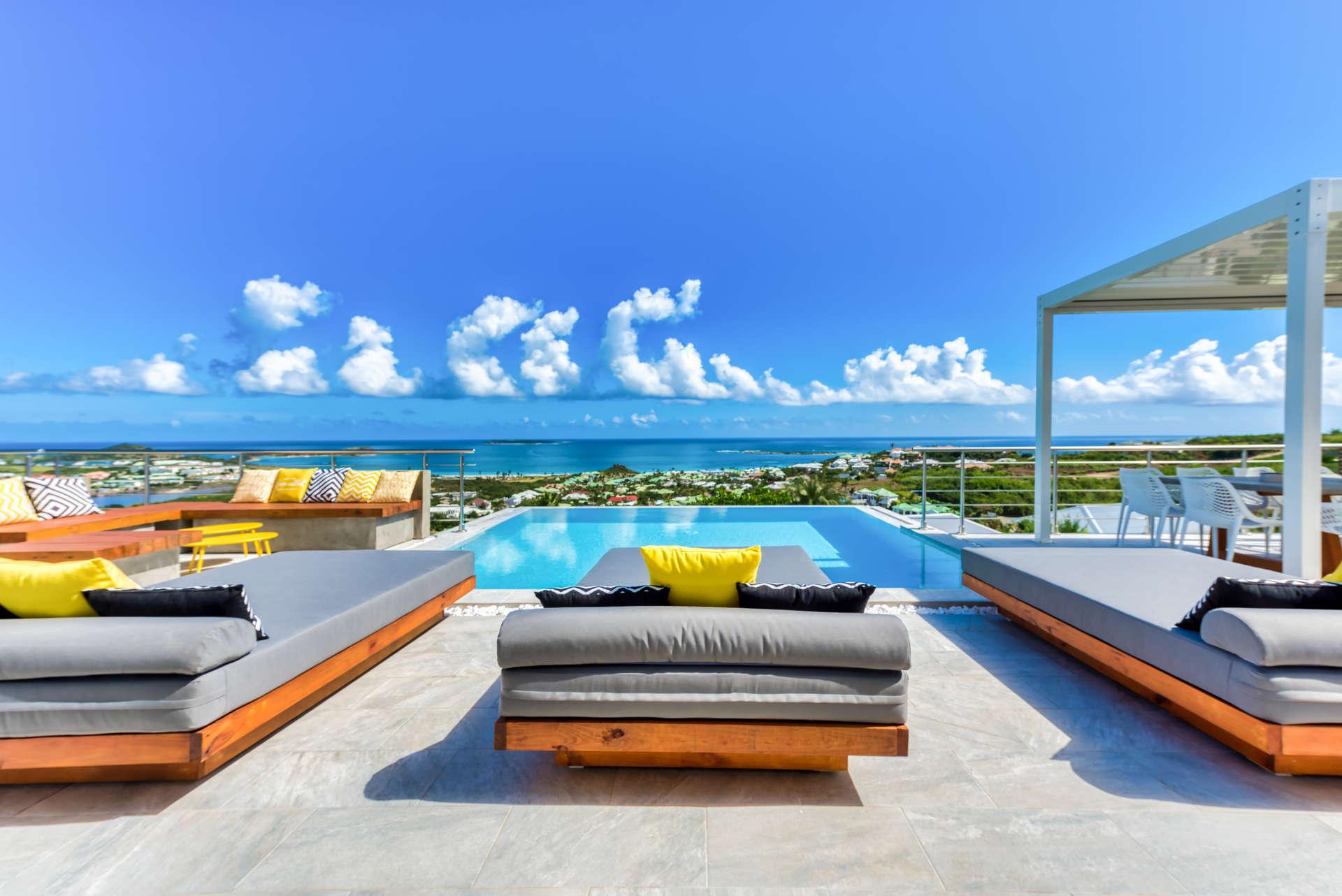 Luxury villa rentals caribbean - St martin - Saint martin french - Orient bay - Topaze - Image 1/19