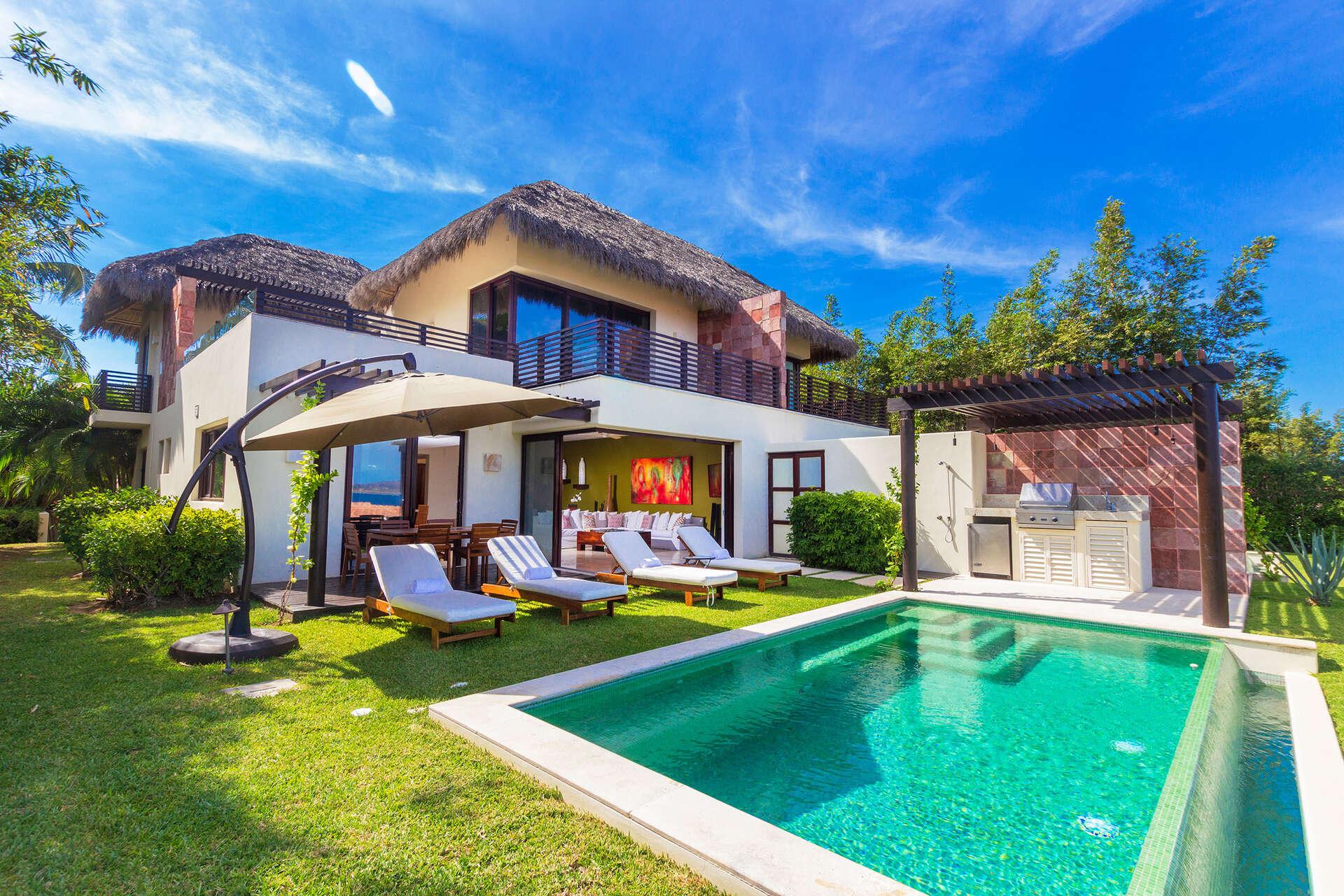 Luxury vacation rentals mexico - Punta mita - Porta fortuna - No location 4 - Villa Jade - Image 1/28