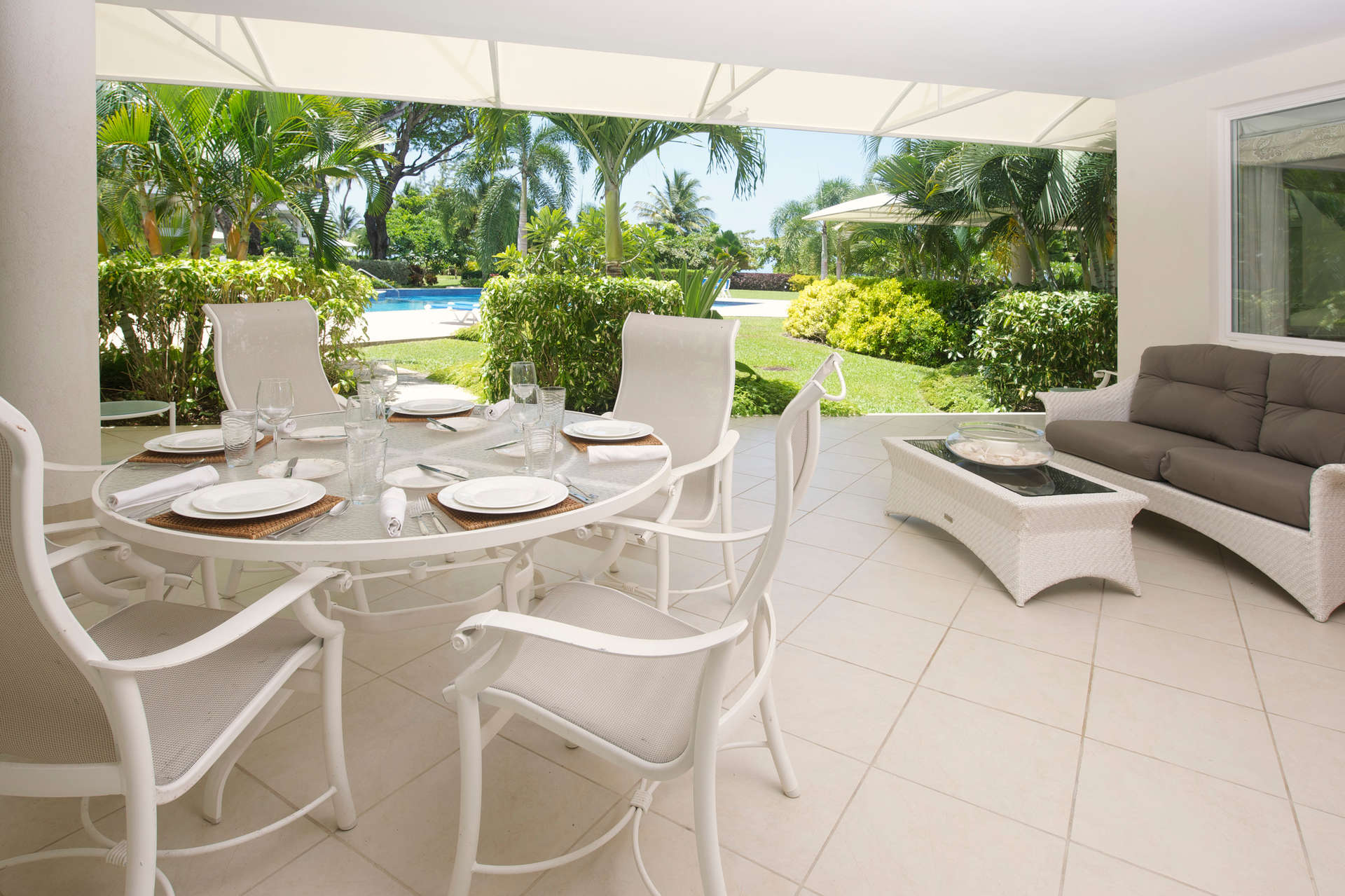 Luxury villa rentals caribbean - Barbados - Christ church - Palm beach condos - Palm Beach 110 - Image 1/11