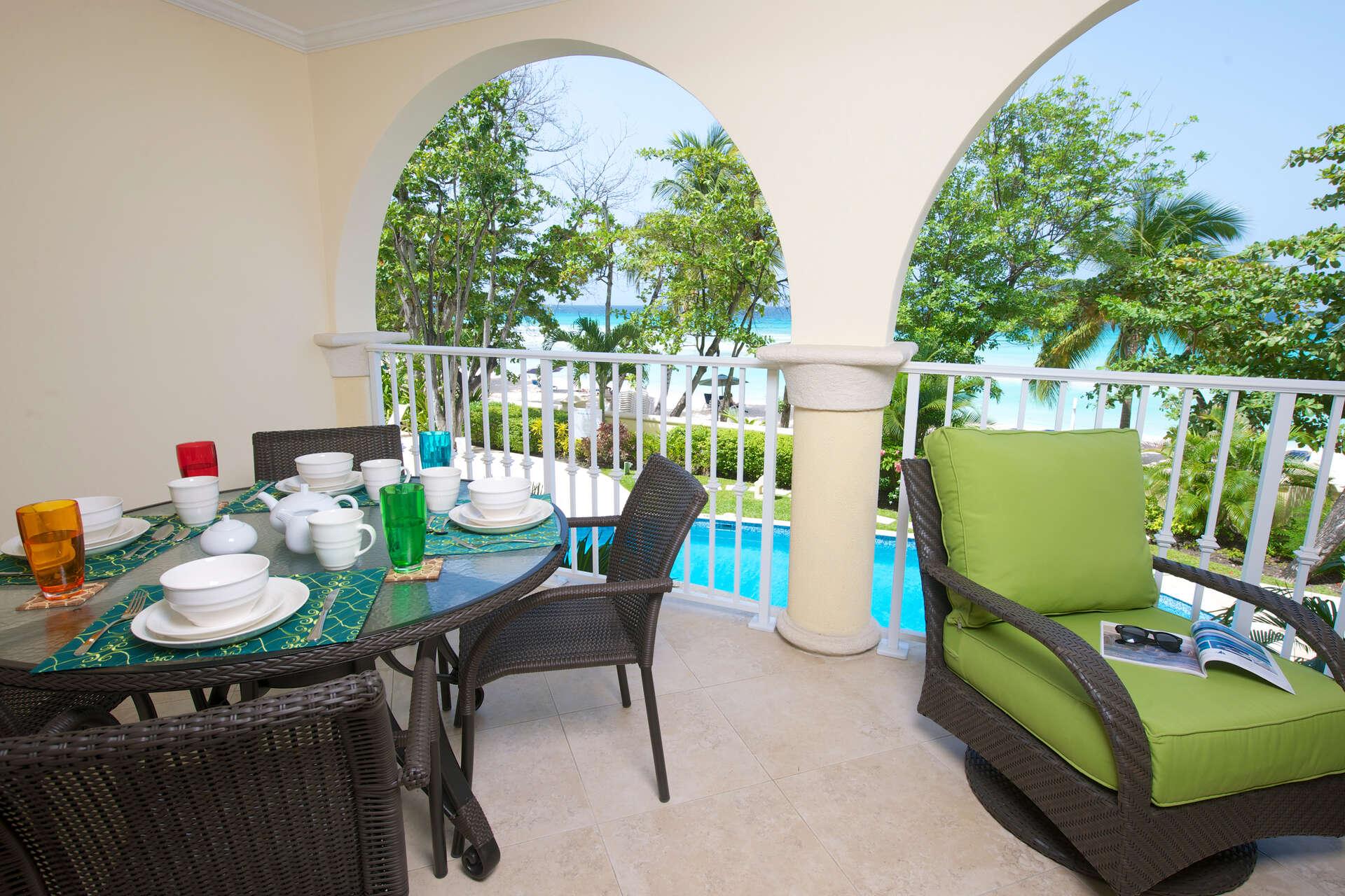 Luxury villa rentals caribbean - Barbados - Christ church - Sapphire beach condos - Sapphire Beach 103 - Image 1/11