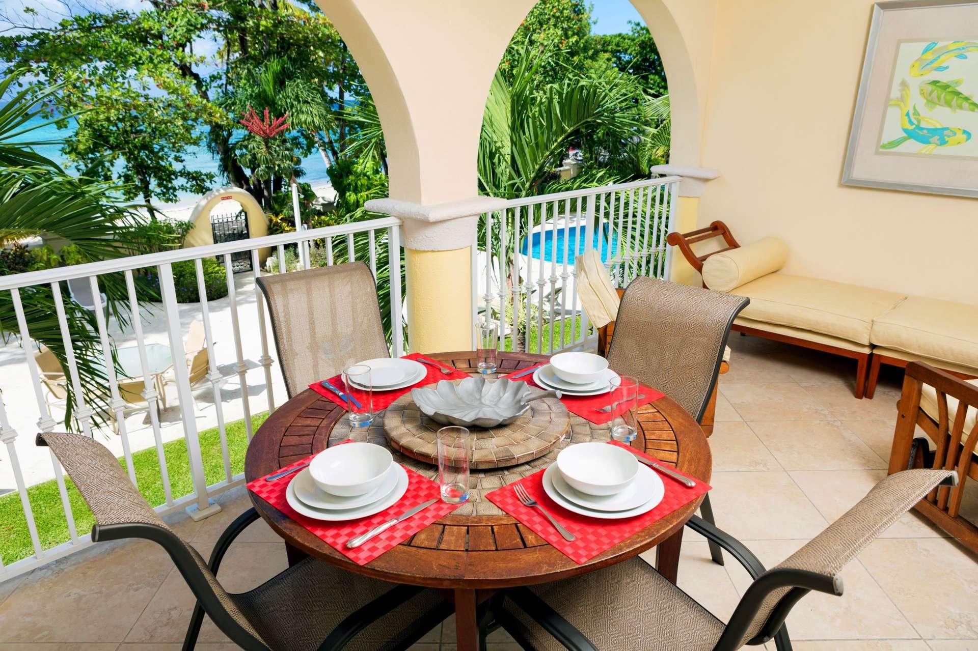 Luxury villa rentals caribbean - Barbados - Christ church - Oistins  - Sapphire Beach 109 - Image 1/8