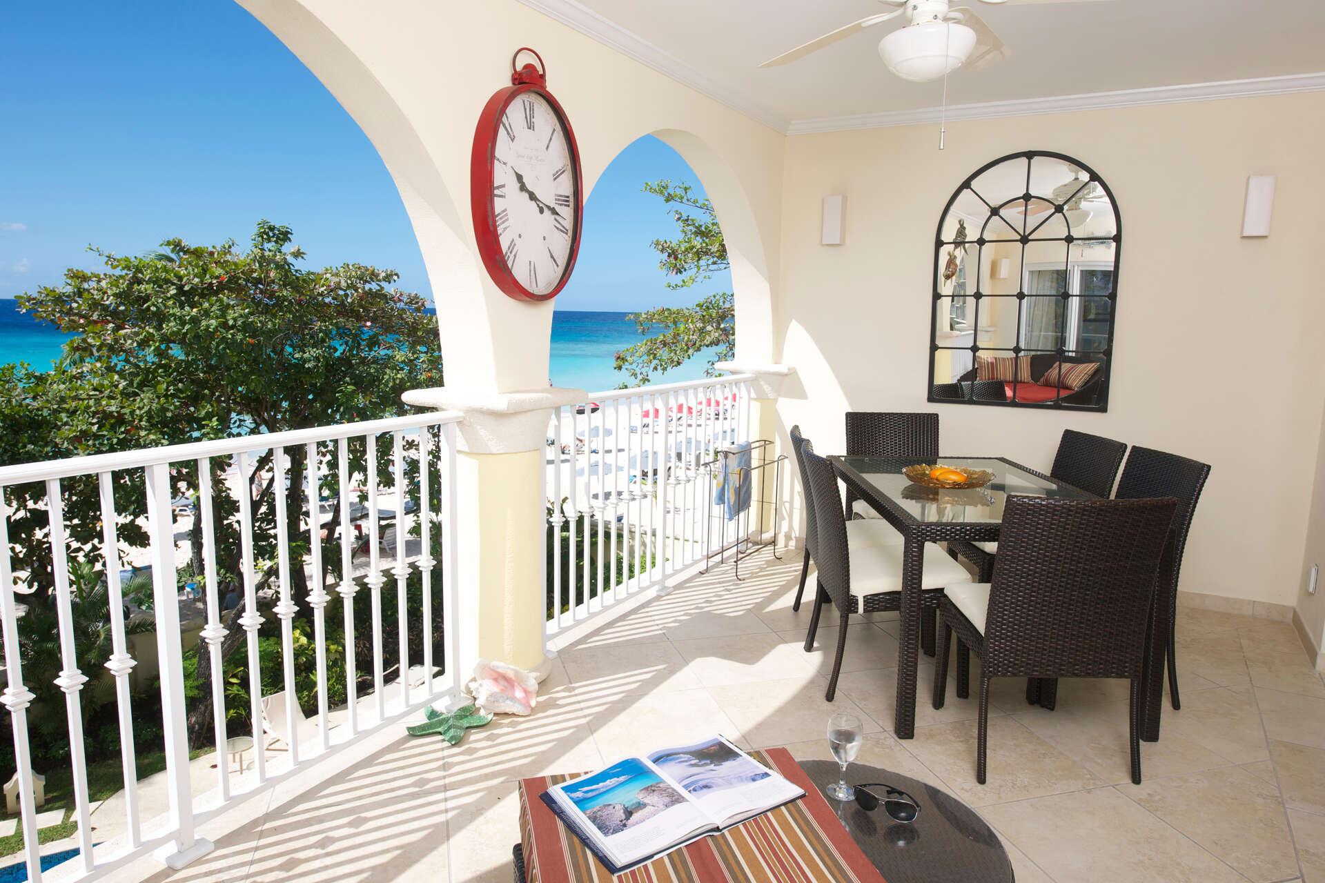 Luxury villa rentals caribbean - Barbados - Christ church - Oistins  - Sapphire Beach 203 - Image 1/14