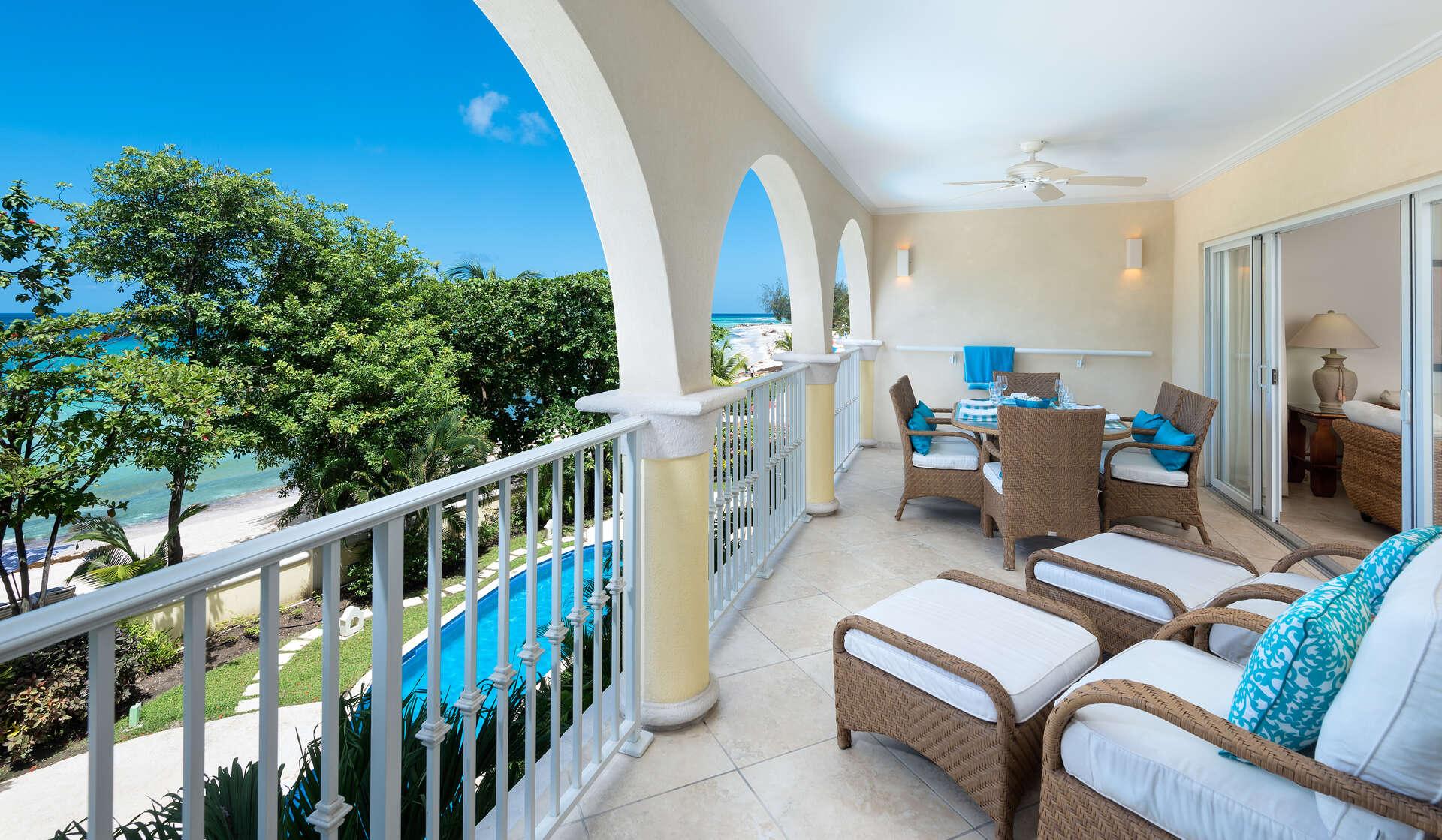 Luxury villa rentals caribbean - Barbados - Christ church - Sapphire beach condos - Sapphire Beach 205 - Image 1/12