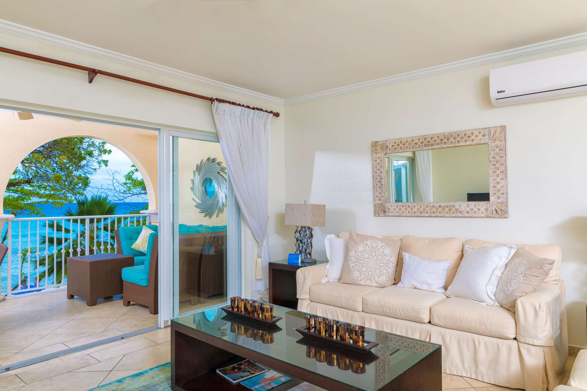 Luxury villa rentals caribbean - Barbados - Christ church - Oistins  - Sapphire Beach 211 - Image 1/14