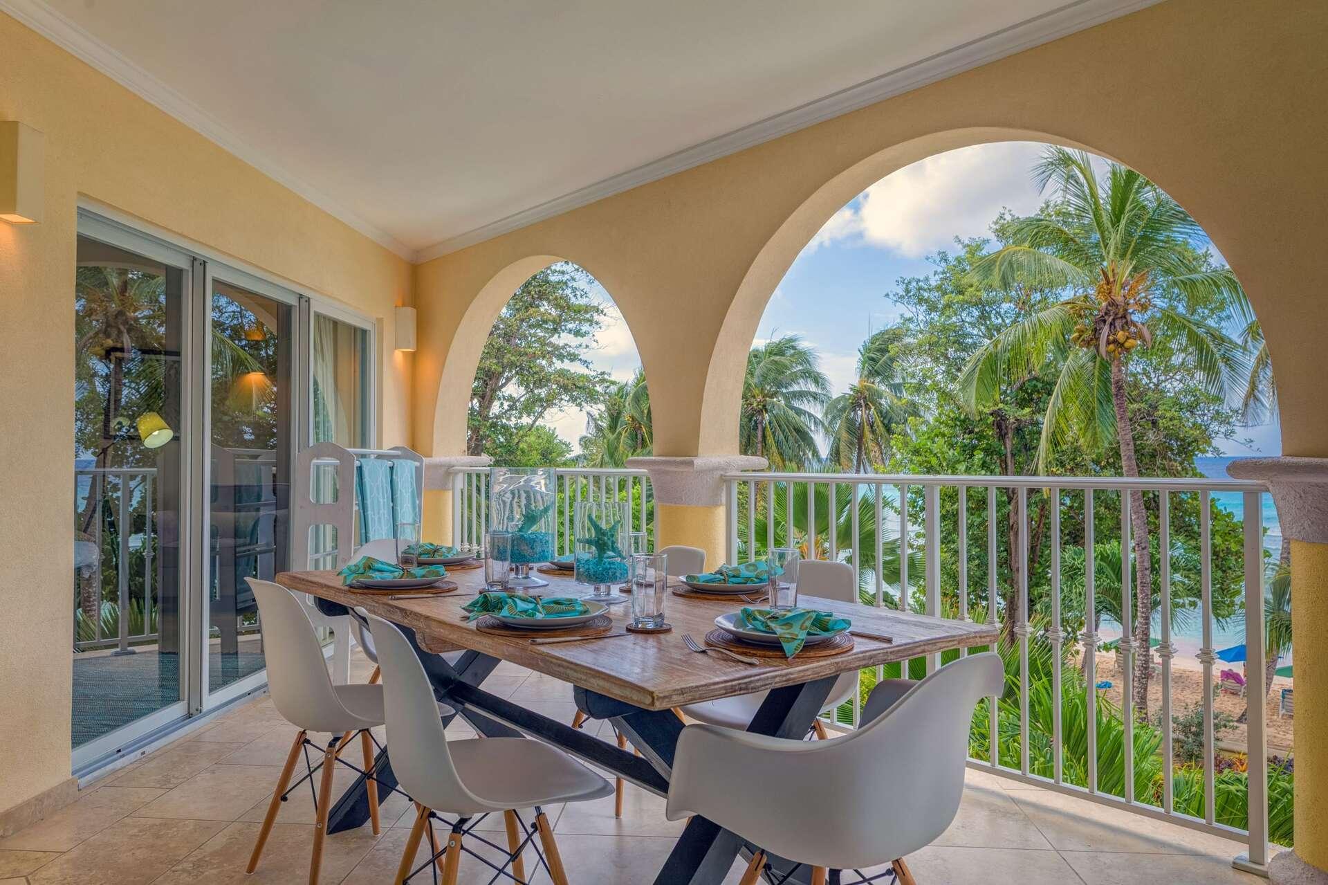 Luxury villa rentals caribbean - Barbados - Christ church - Sapphire beach condos - Sapphire Beach 213 - Image 1/14