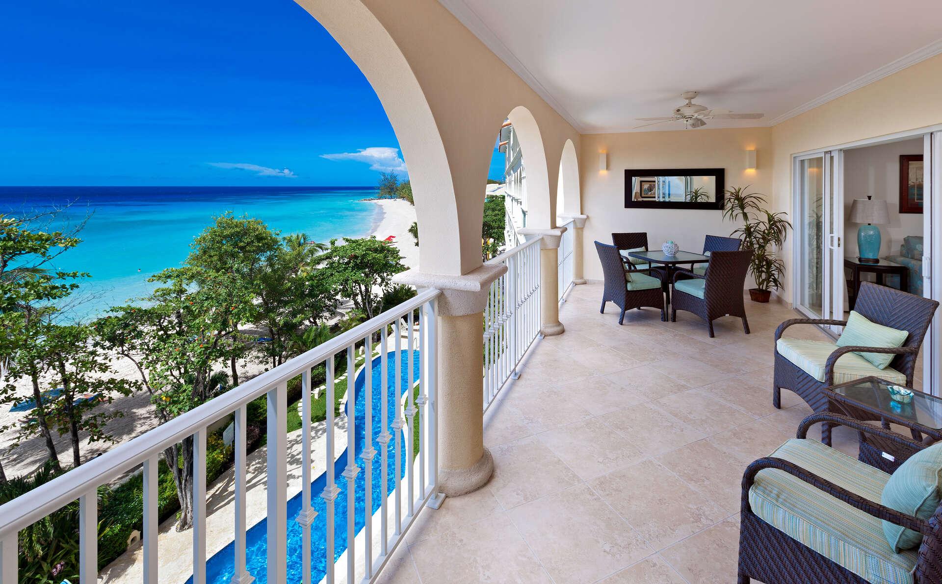 Luxury villa rentals caribbean - Barbados - Christ church - Sapphire beach condos - Sapphire Beach 407 - Image 1/14