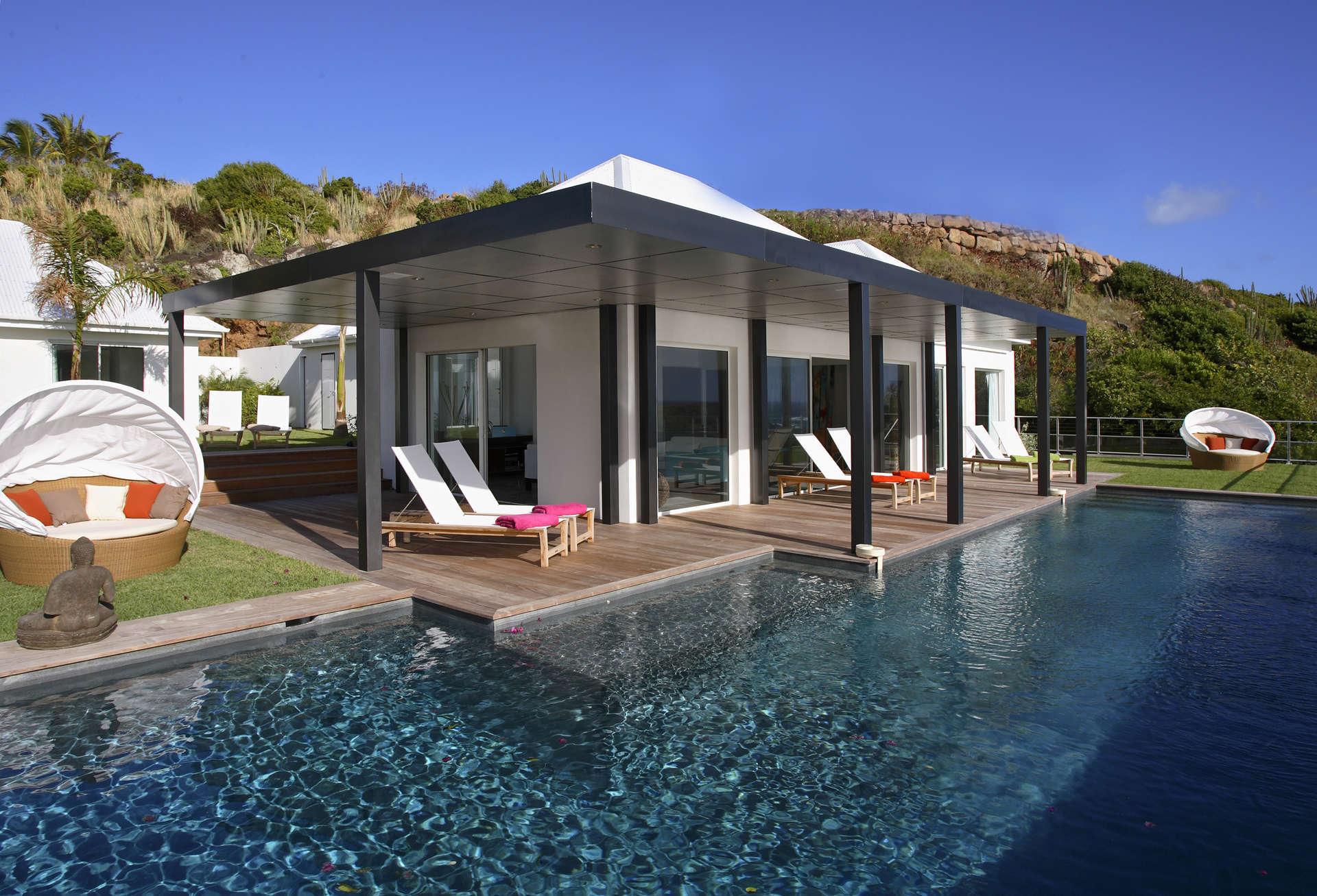 Luxury villa rentals caribbean - St barthelemy - Mont jean - No location 4 - Villa Om - Image 1/24