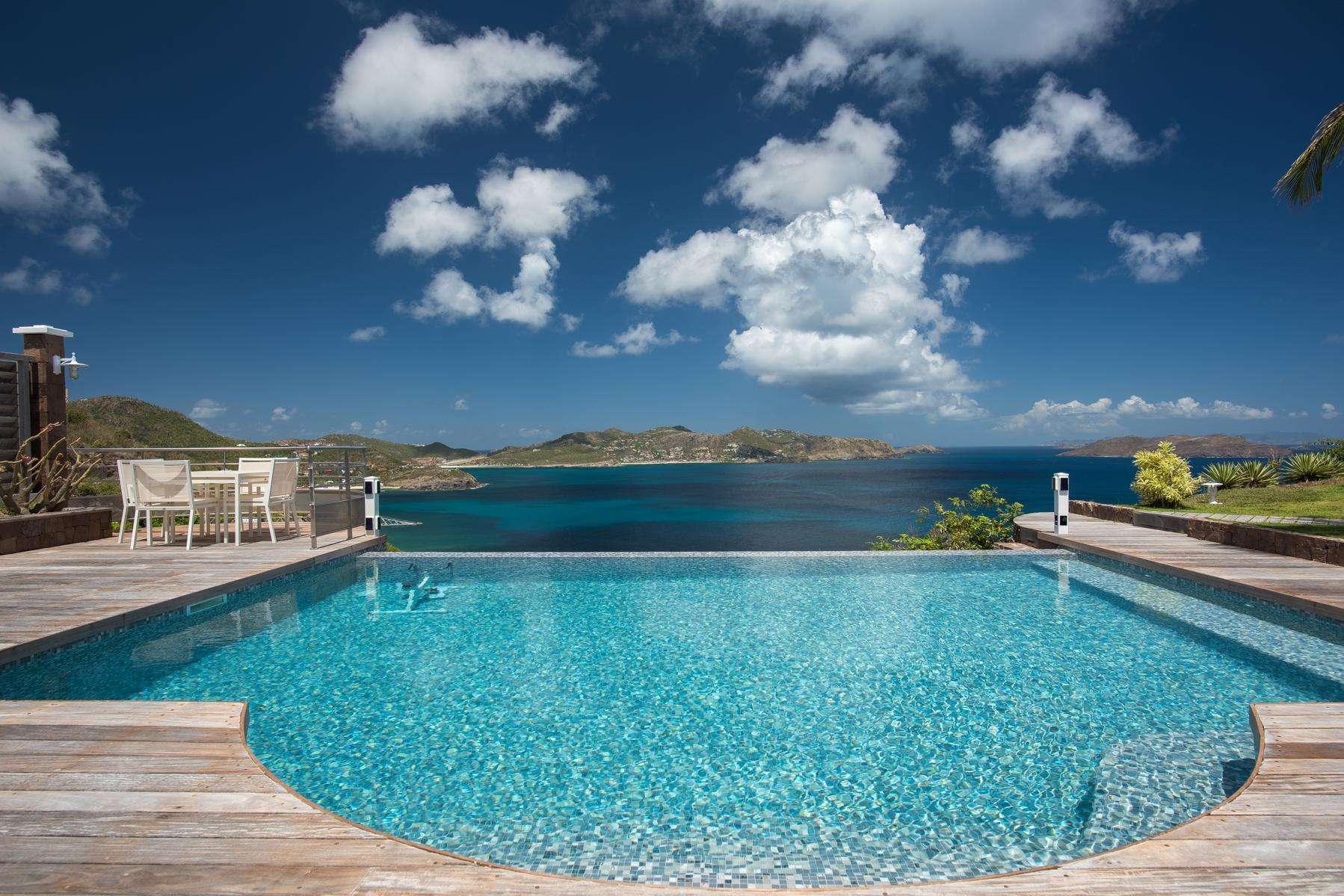 Luxury villa rentals caribbean - St barthelemy - Pointe milou - No location 4 - L'Abri Cotier - Image 1/22