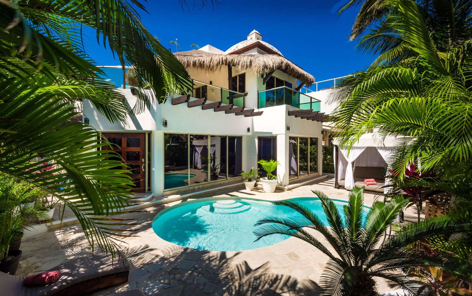 Luxury vacation rentals mexico - Riviera maya - Playa del carmen - No location 4 - Casa Nikki - Image 1/26