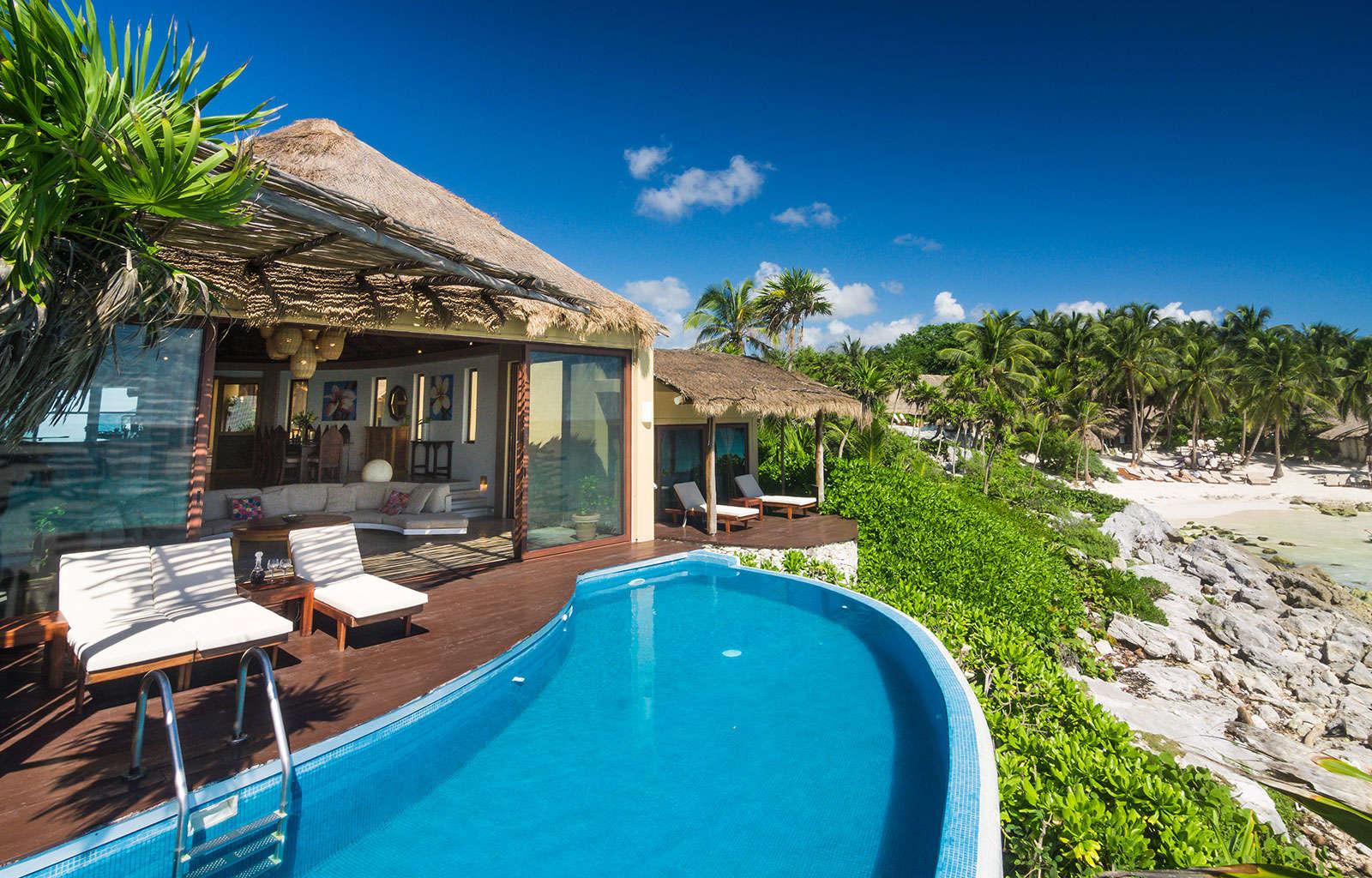 Luxury vacation rentals mexico - Riviera maya - Tulum - No location 4 - Villa Miramar - Image 1/19