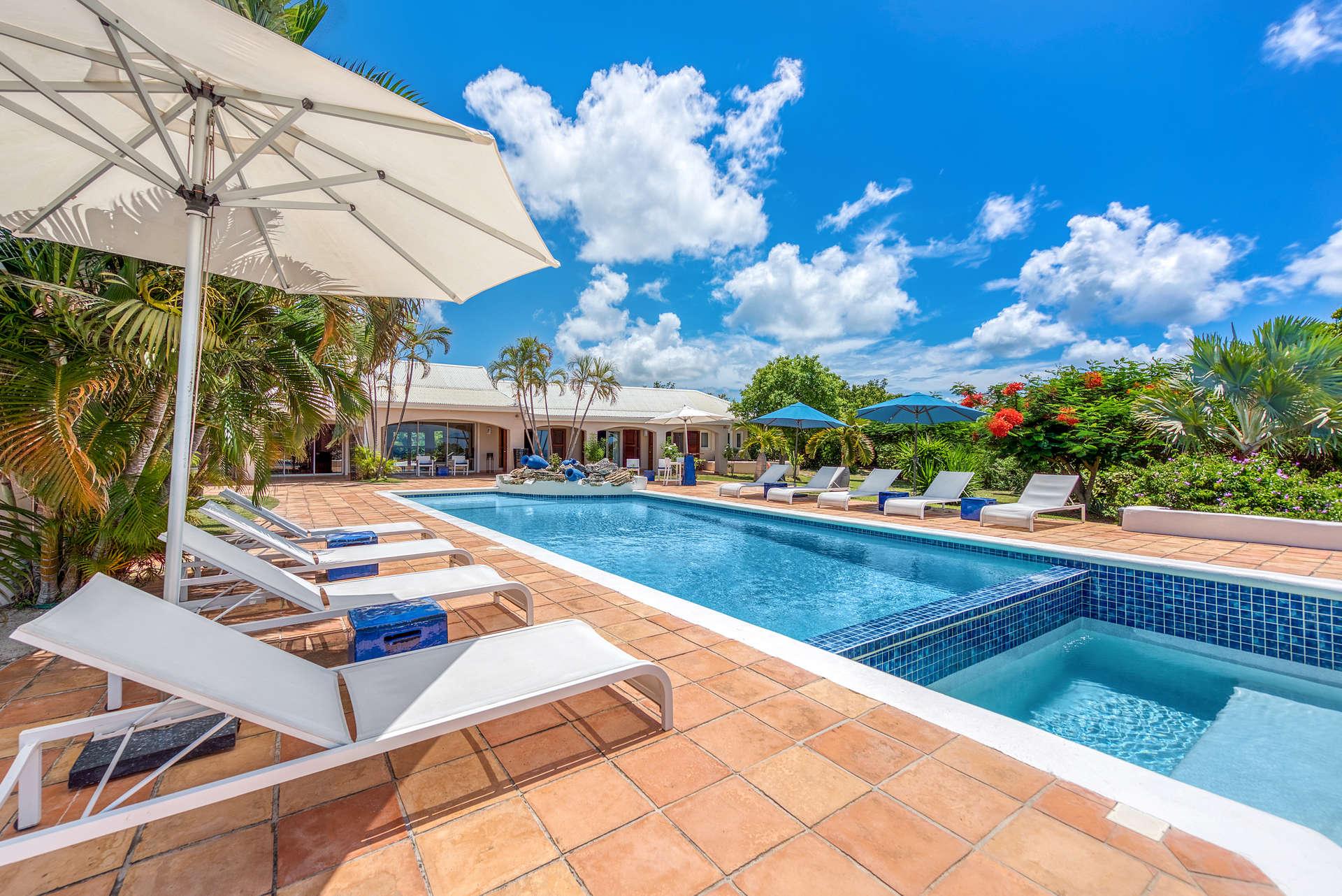 Luxury villa rentals caribbean - St martin - Saint martin french - Les terres basses - La Pergola - Image 1/33