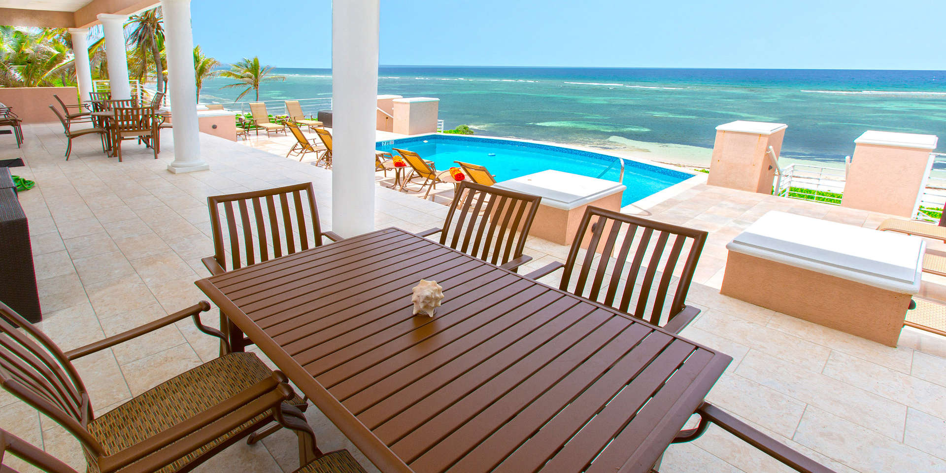 Luxury villa rentals caribbean - Cayman islands - Grand cayman - Rum point - Coral Kai - Image 1/17