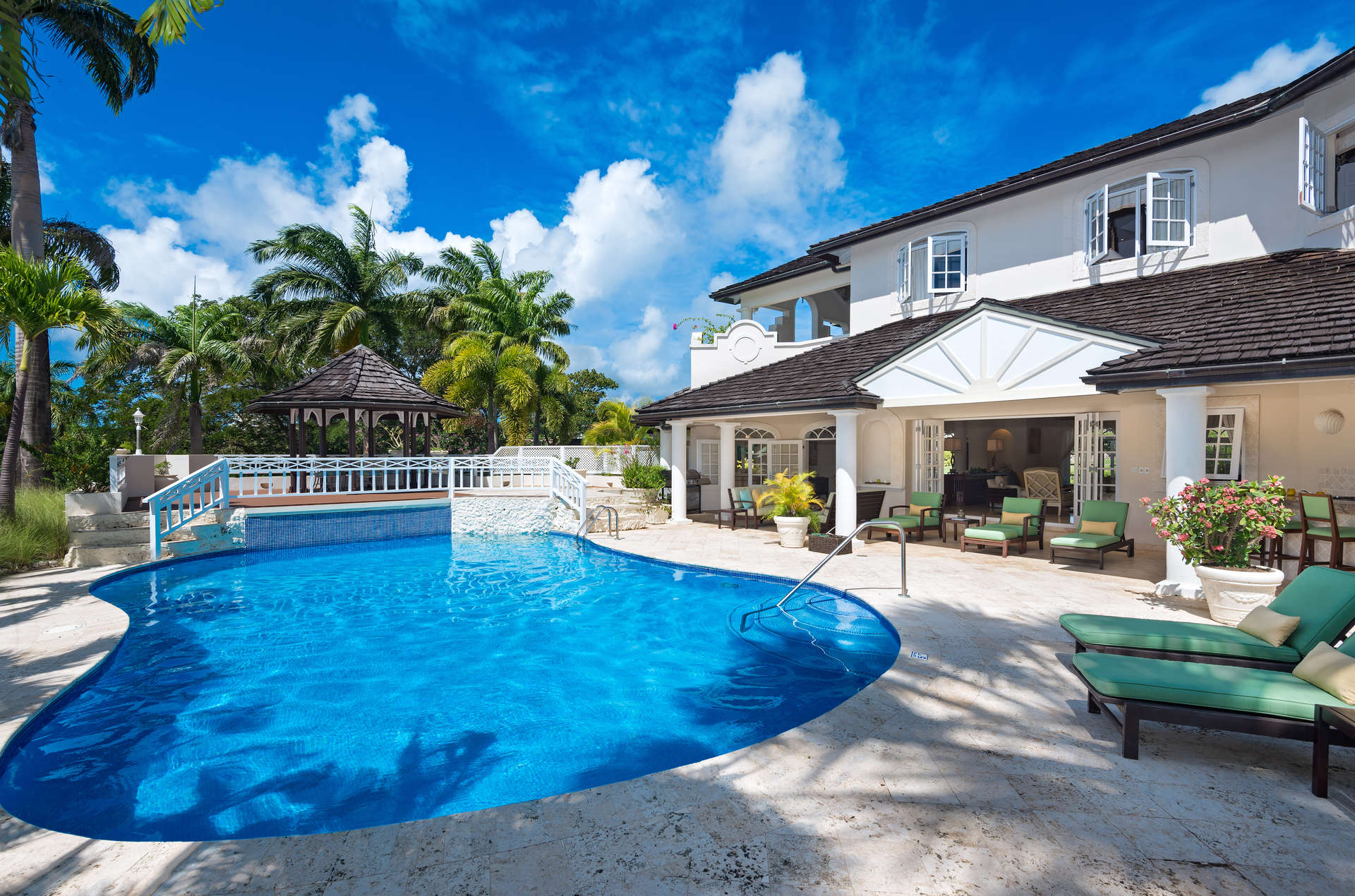 Luxury villa rentals caribbean - Barbados - St james - Royal westmoreland golf resort - Seventh Heaven | Palm Ridge 18 - Image 1/7
