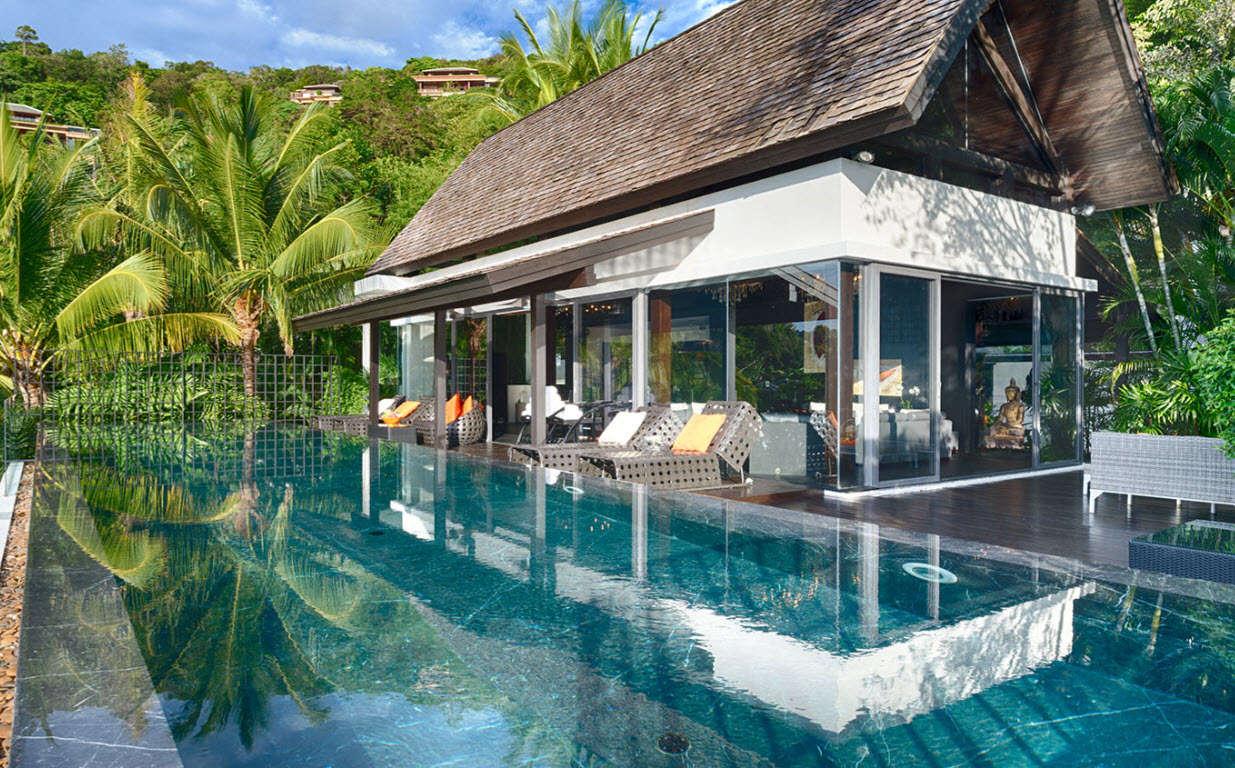 Luxury villa rentals asia - Thailand - Phuket island - Kamala - Villa Yang - Image 1/8