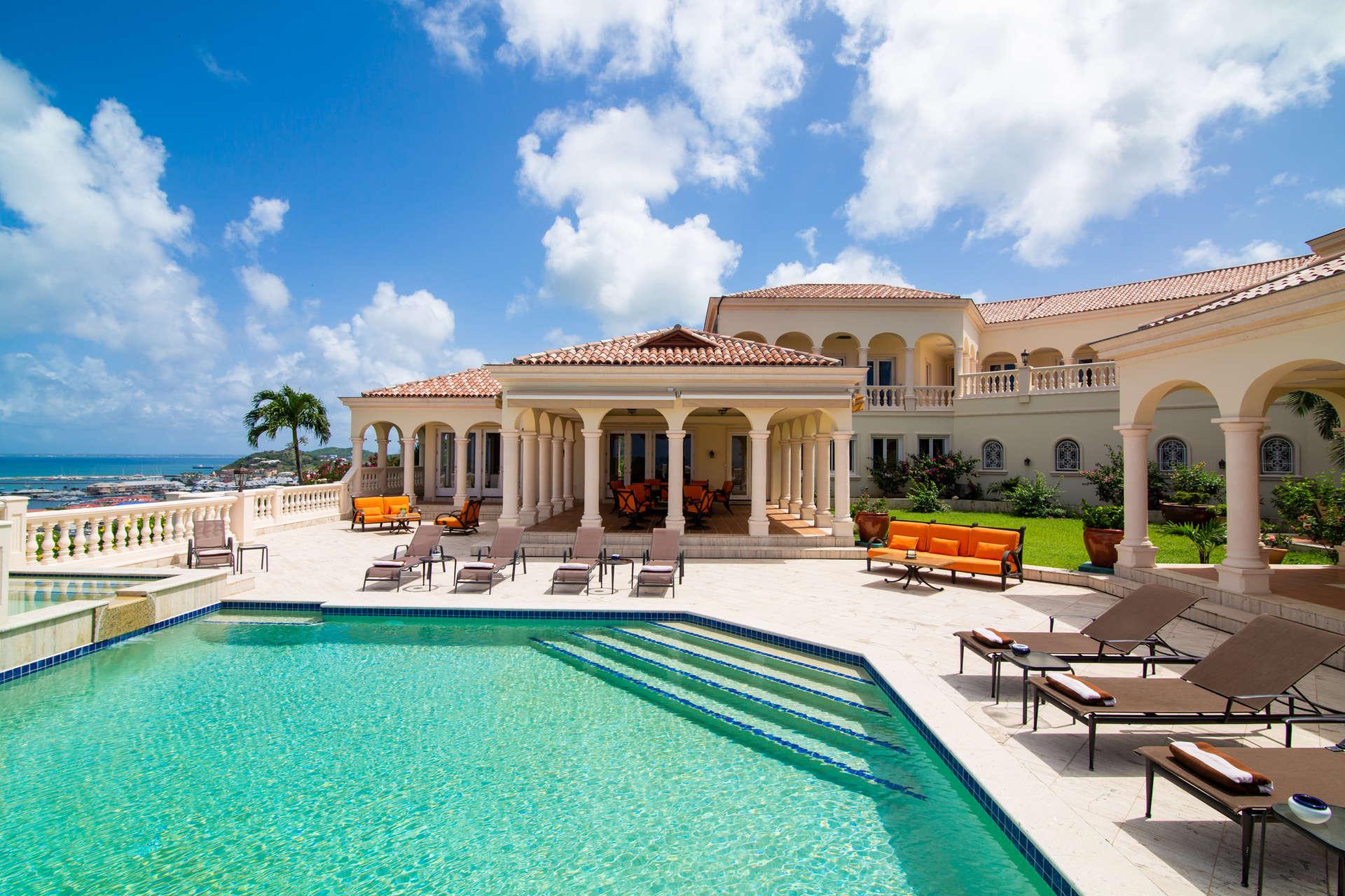 Luxury villa rentals caribbean - St martin - Saint martin french - Bellevue - Les Jardin de Bellevue - Image 1/23