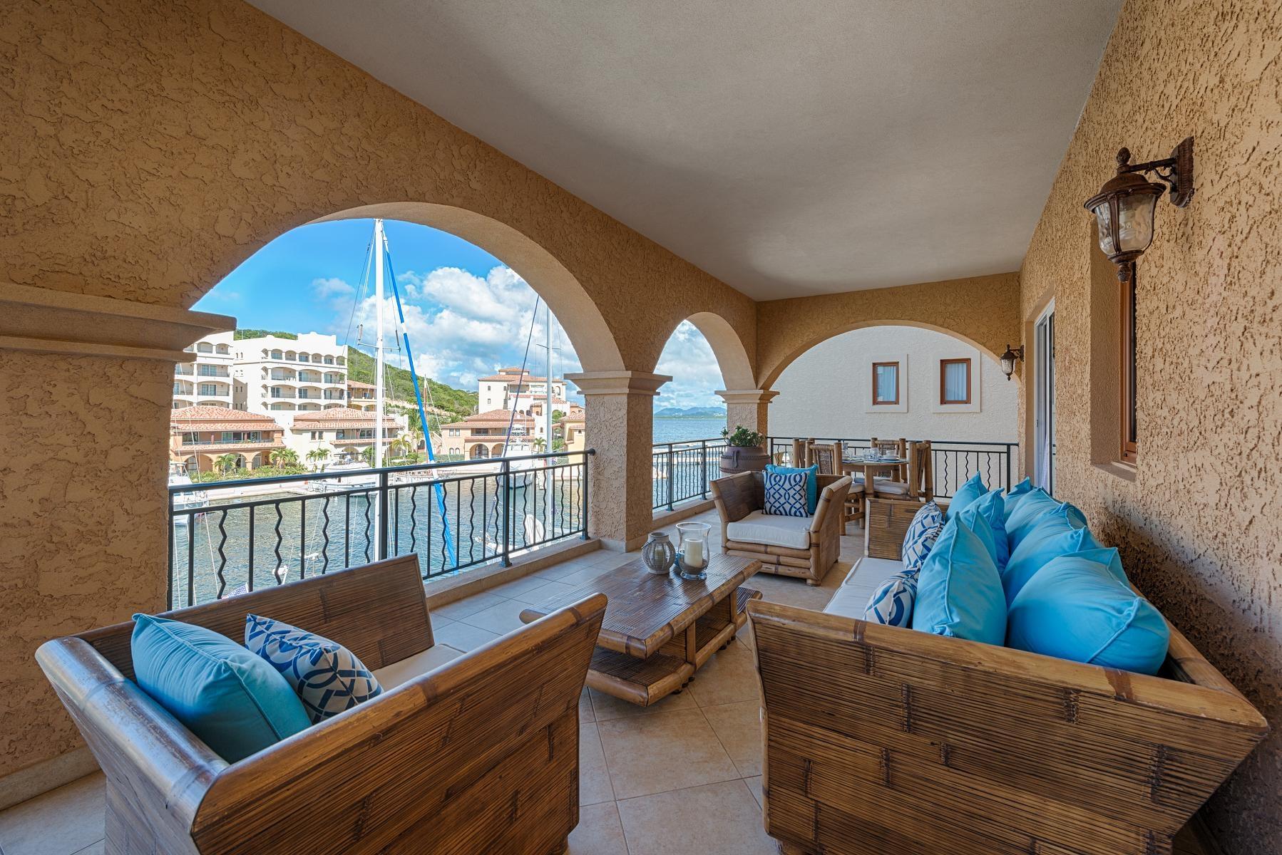 Luxury villa rentals caribbean - St martin - Sint maarten - Porto cupecoy - Porto Blue - Image 1/13