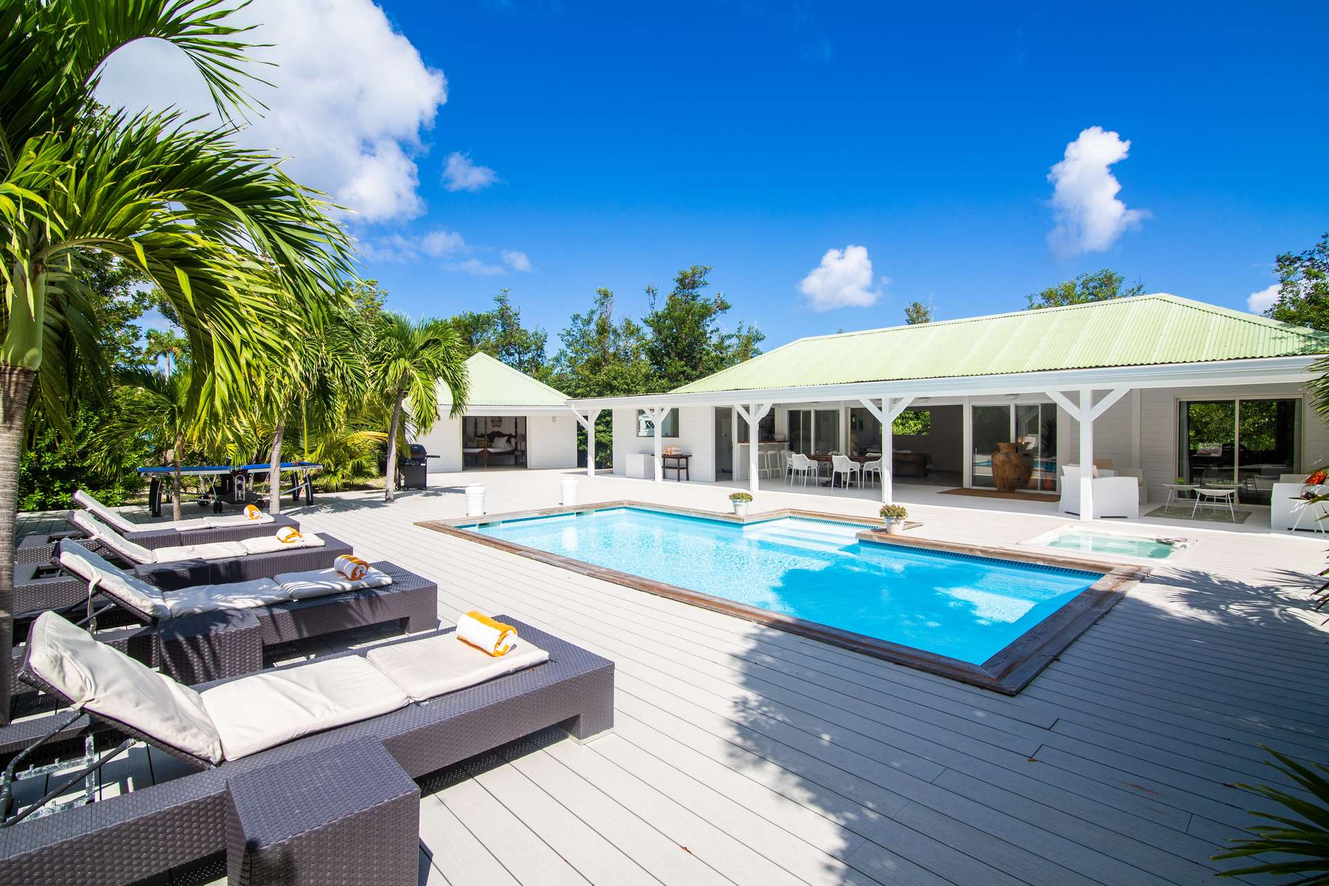 Luxury villa rentals caribbean - St martin - Saint martin french - Les terres basses - Monchal - Image 1/20