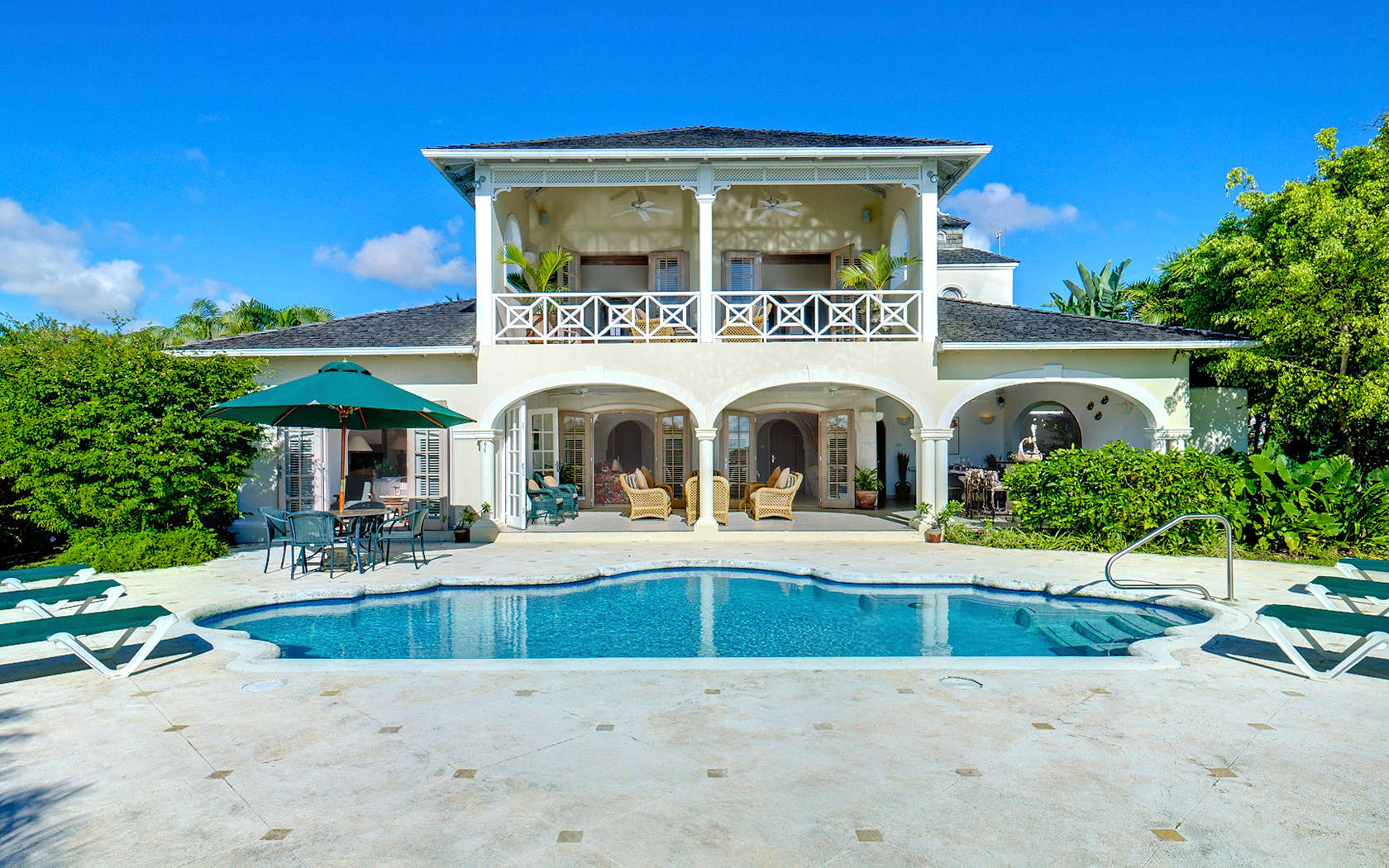 Luxury villa rentals caribbean - Barbados - St james - Sugar hill estate - Oceana - Image 1/13