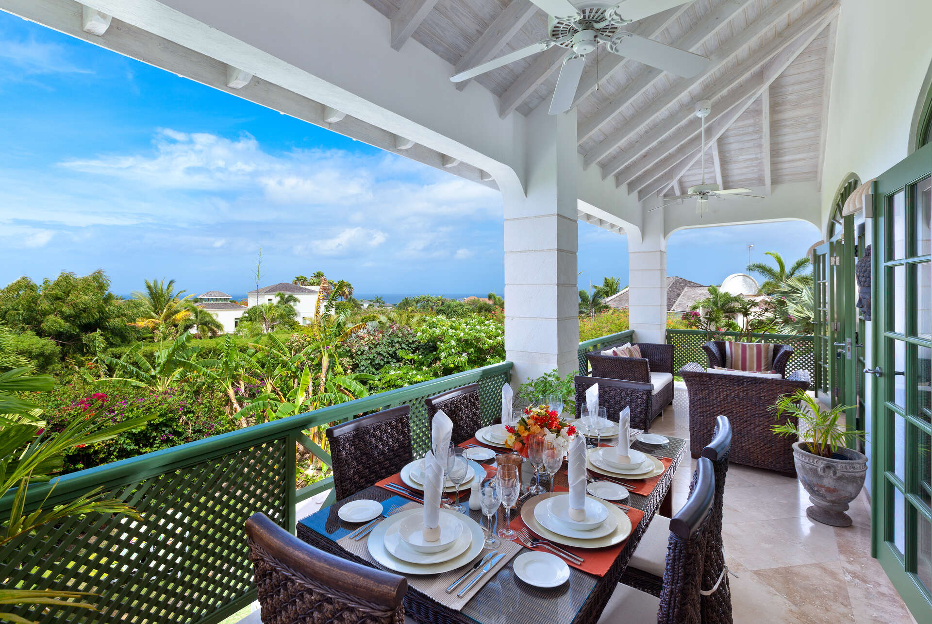 Luxury villa rentals caribbean - Barbados - St james - Sugar hill resort - The Summer House - Image 1/9