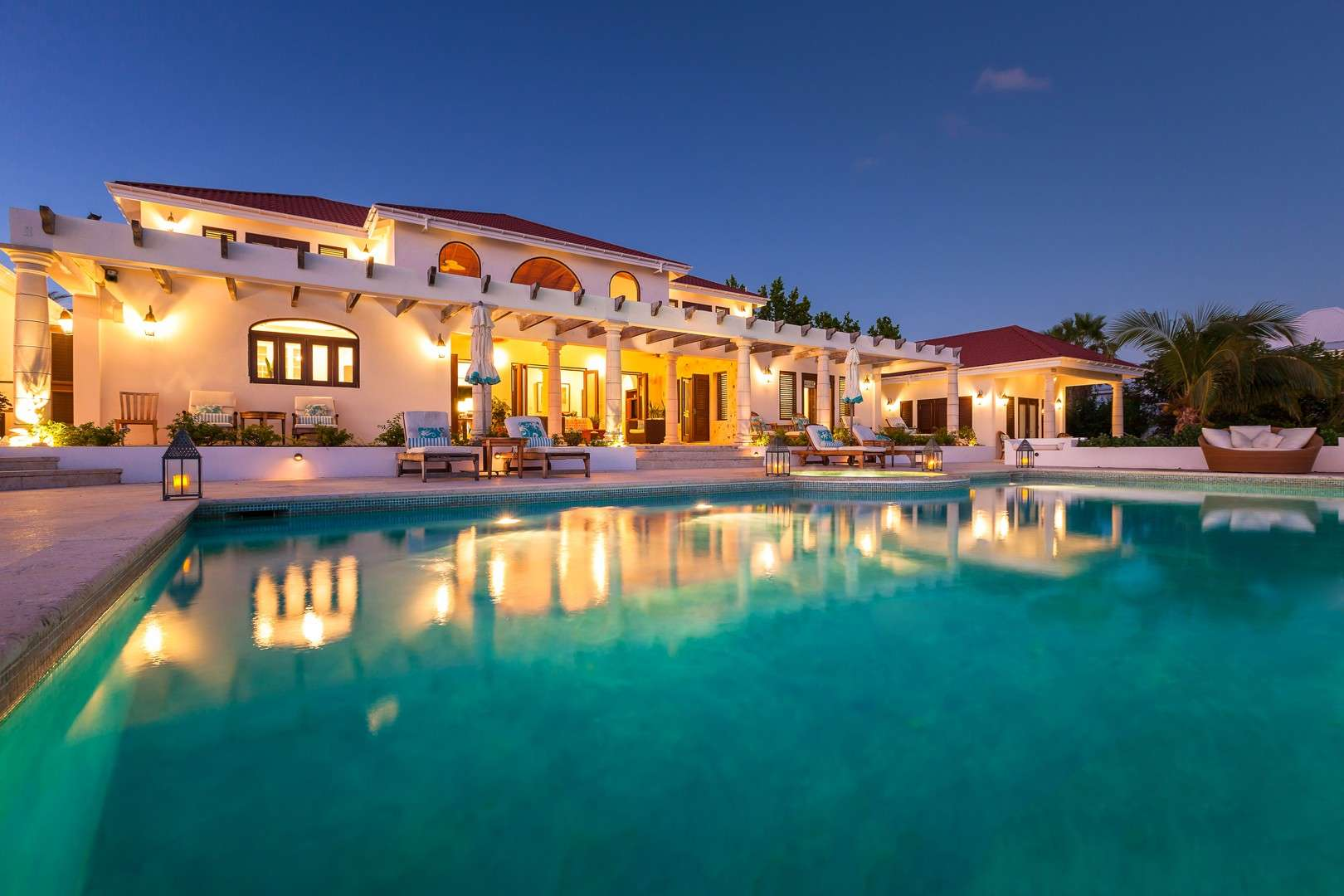 Luxury villa rentals caribbean - Anguilla - Blowing point - Villa Alegria - Image 1/18
