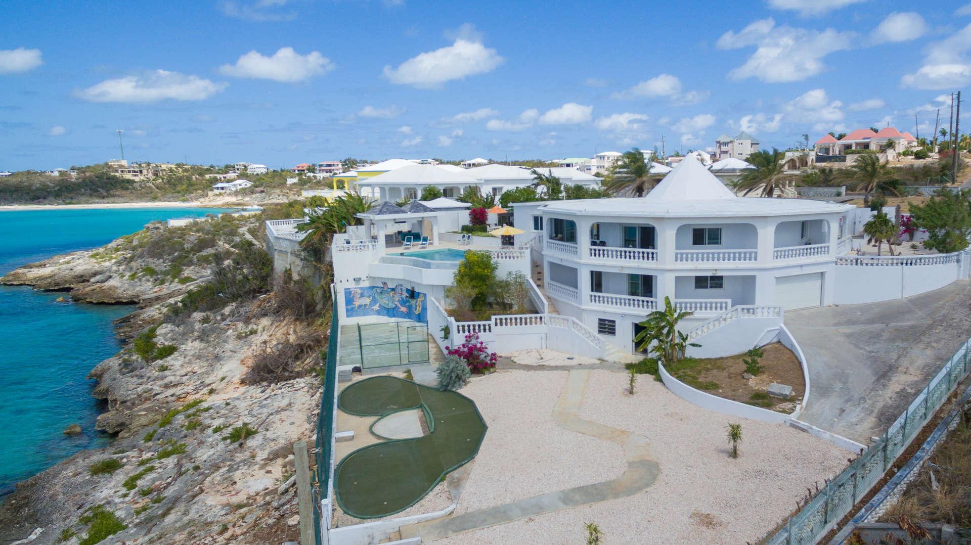 Luxury villa rentals caribbean - Anguilla - Sandy hill - Emerald Reef Villa - Image 1/24